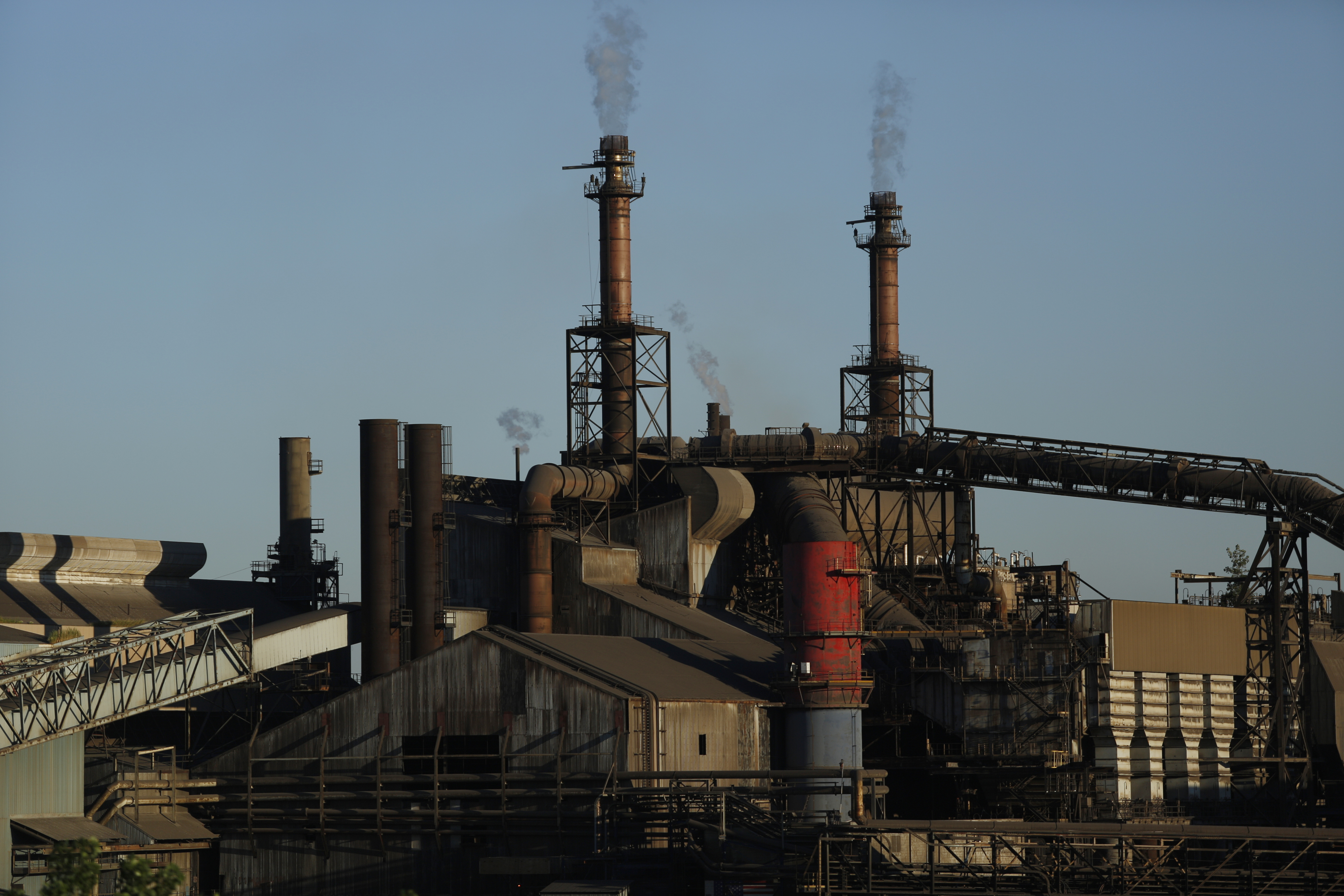 Views Of The ArcelorMittal Steel Mill As More Steel Pain Coming To The U.S.