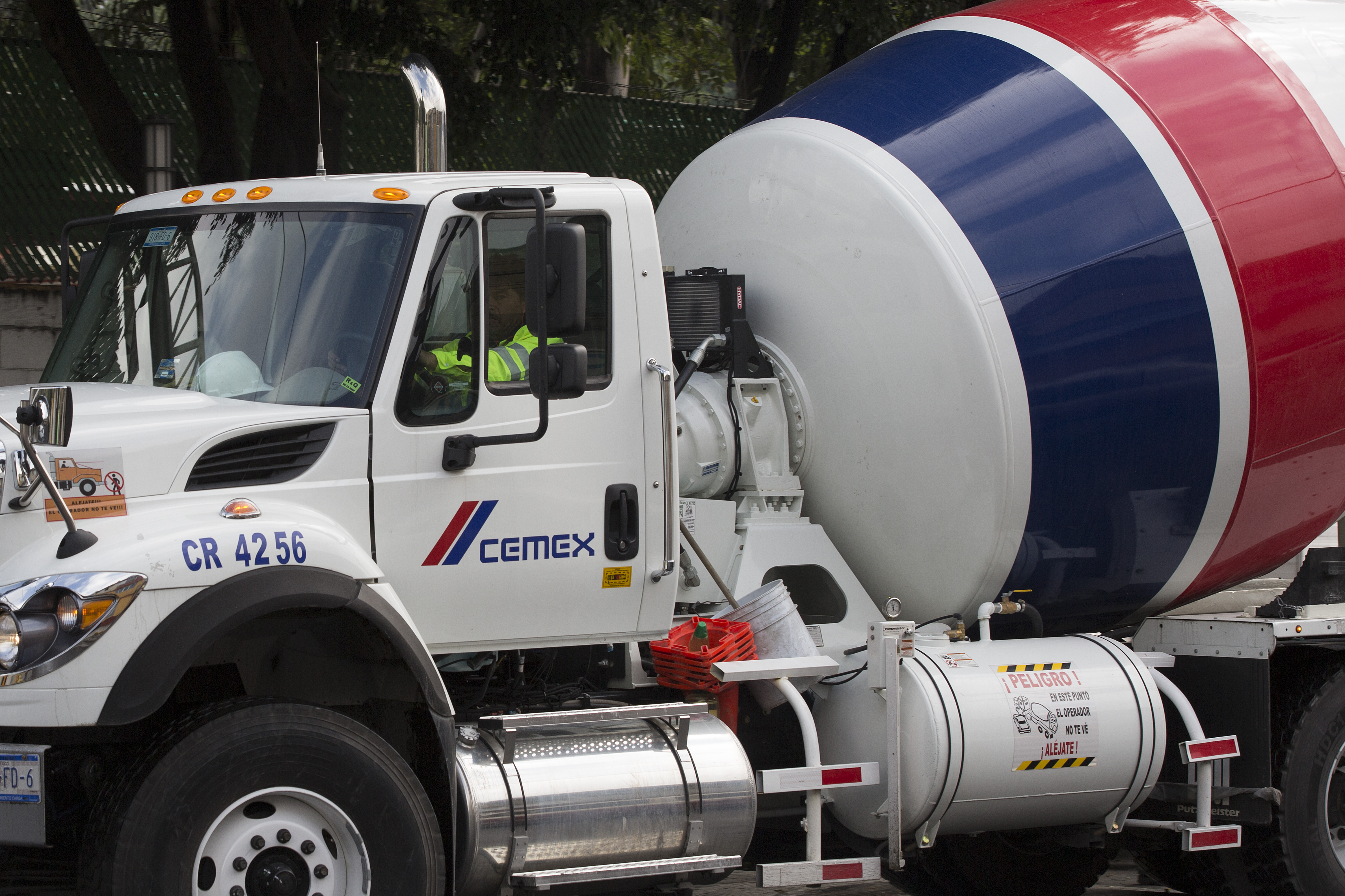 Views Of Cemex Equipment On Construction Sites Ahead Of Earnings Figures