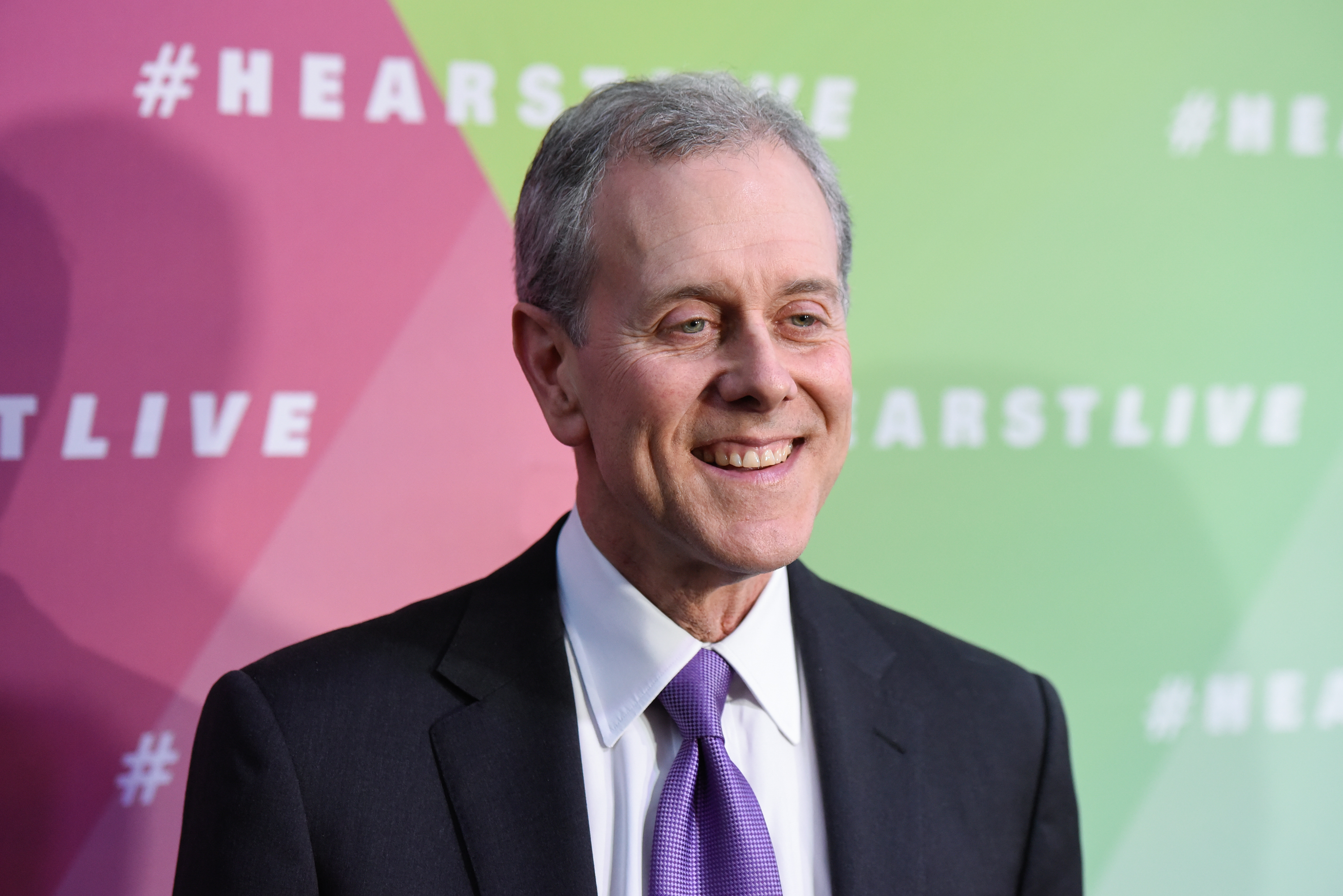 Steven Swartz, President and CEO of Hearst, attends the Hearst launch of HearstLive, a multimedia news installation at Hearst Tower on September 27, 2016 in New York City.