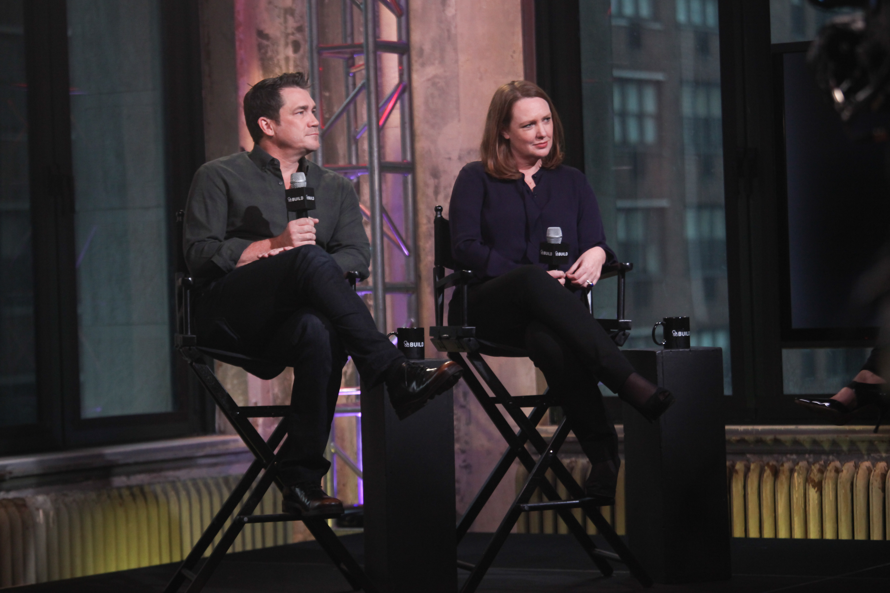 "The Build Series Presents Paula Hawkins And Tate Taylor Discussing The New Film ""Girl On The Train"""