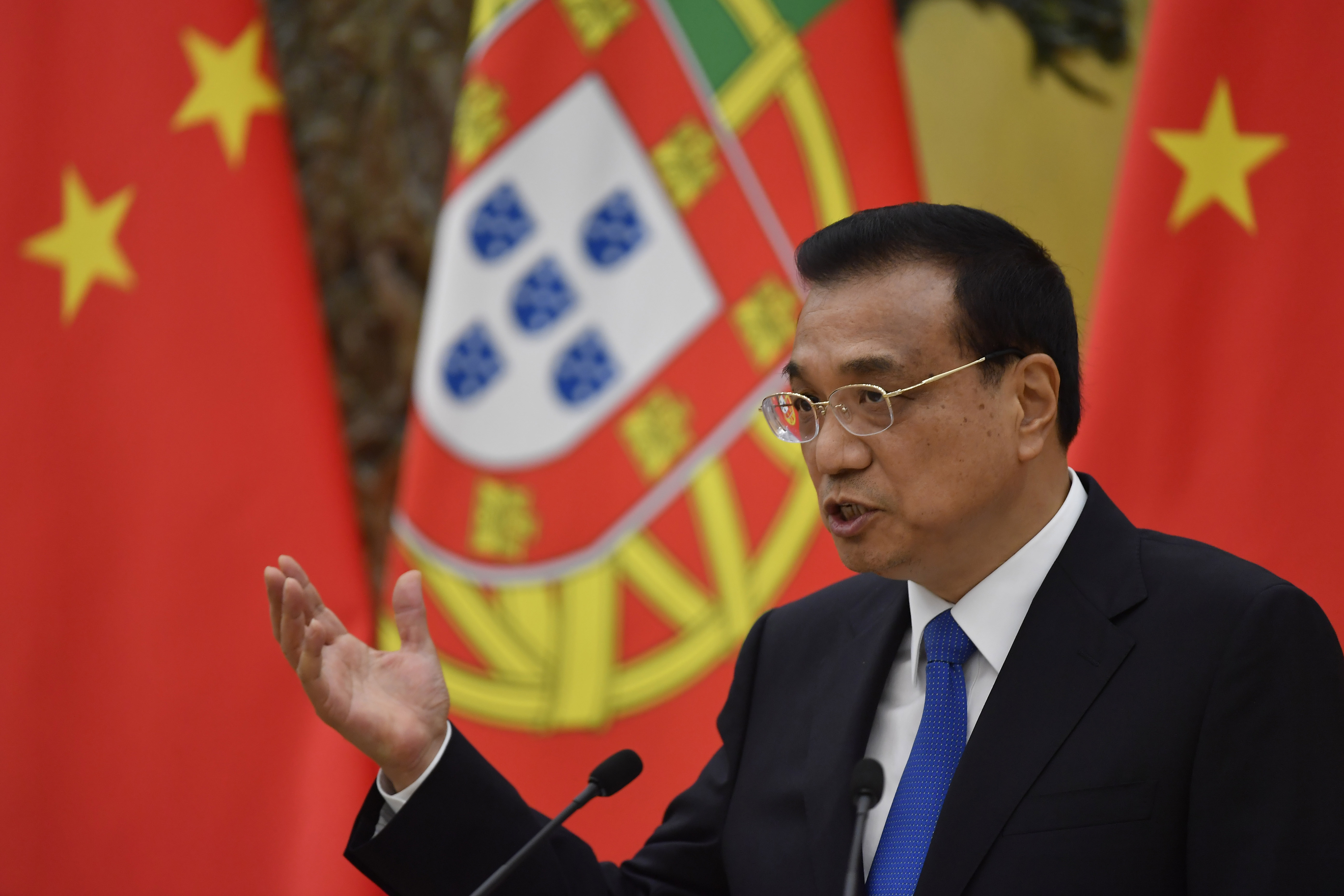 Portuguese Prime Minister Antonio Costa Visits China