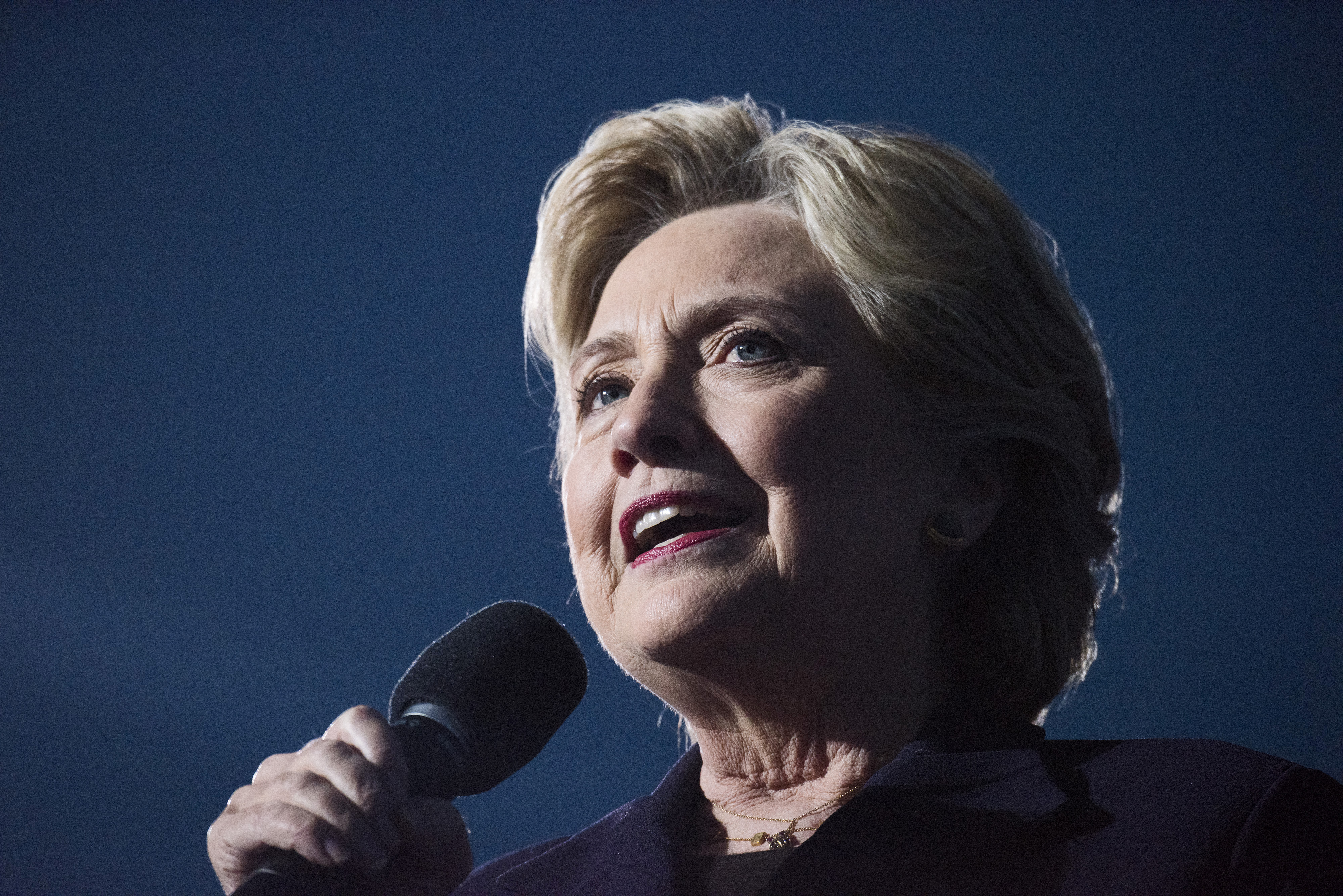 Democratic Presidential Candidate Hillary Clinton Holds Ohio Campaign Rally