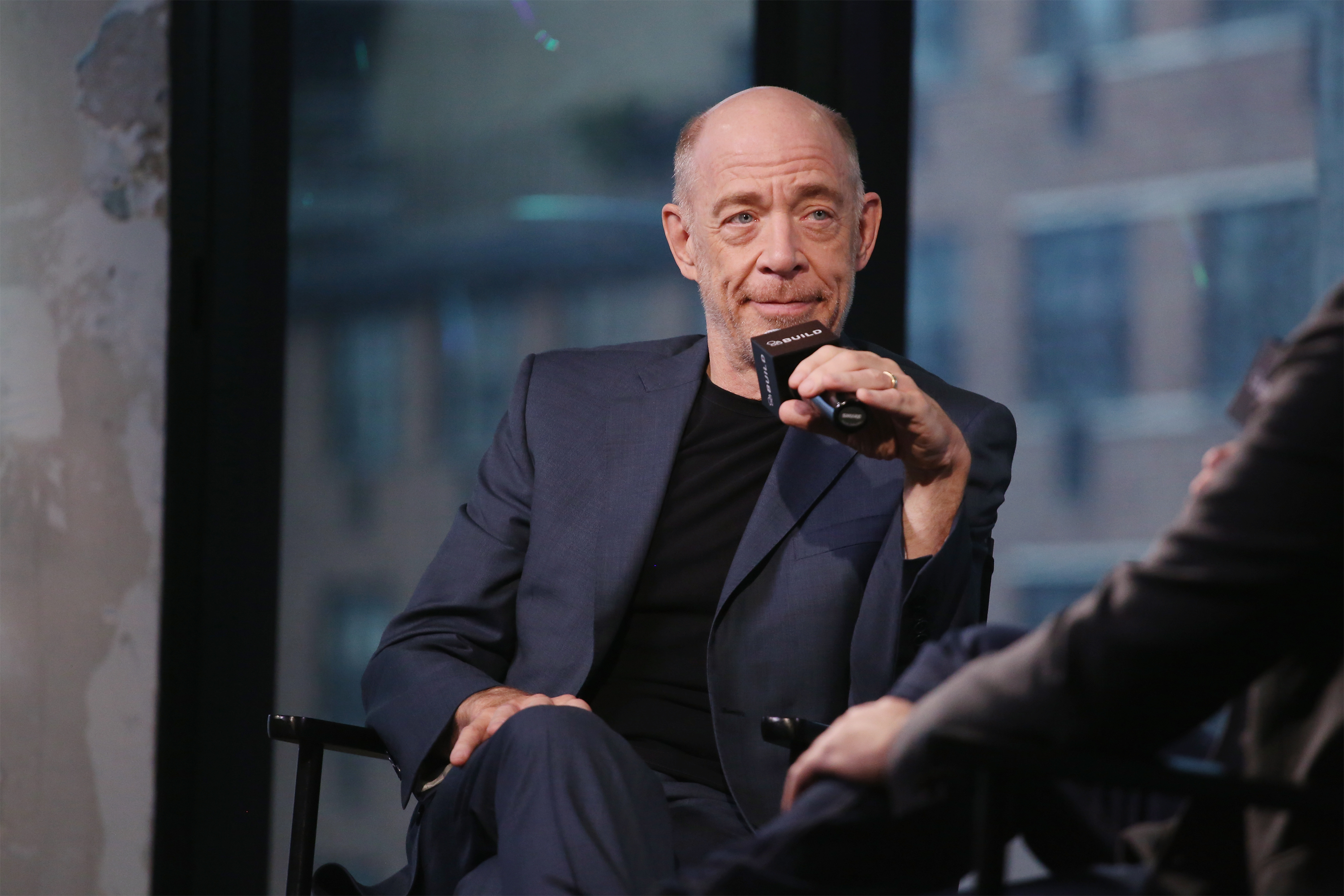 """The Build Series Presents J.K. Simmons Discussing The New Movie """"The Accountant"""""""