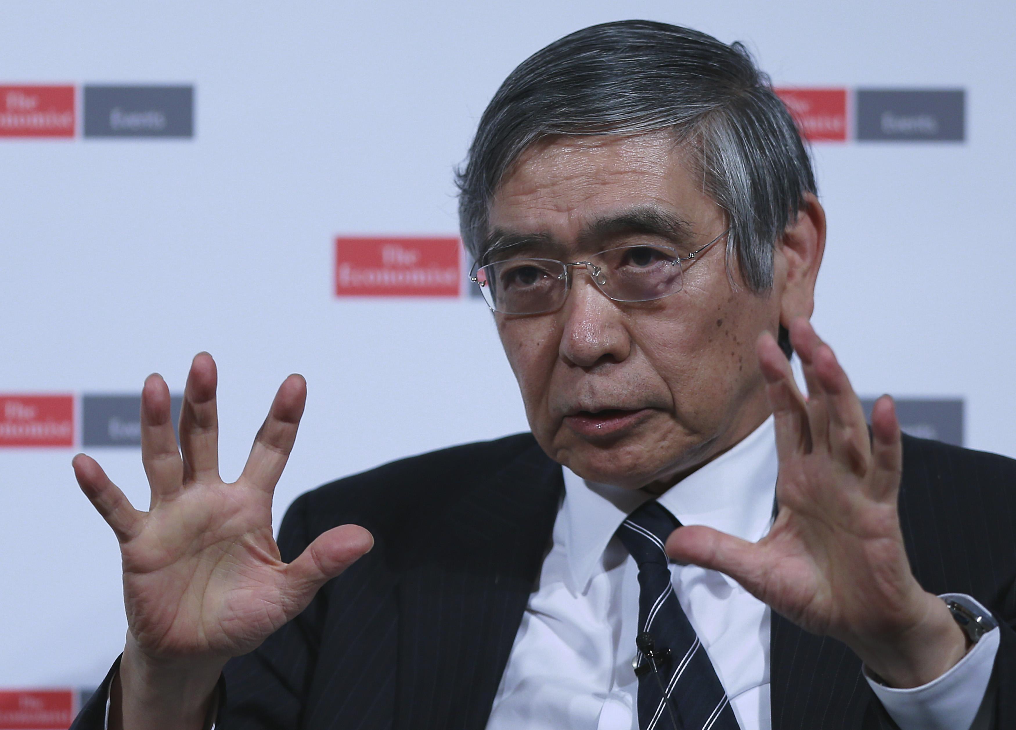 Bank Of Japan Governor Haruhiko Kuroda Speaks At The Economist Japan Summit