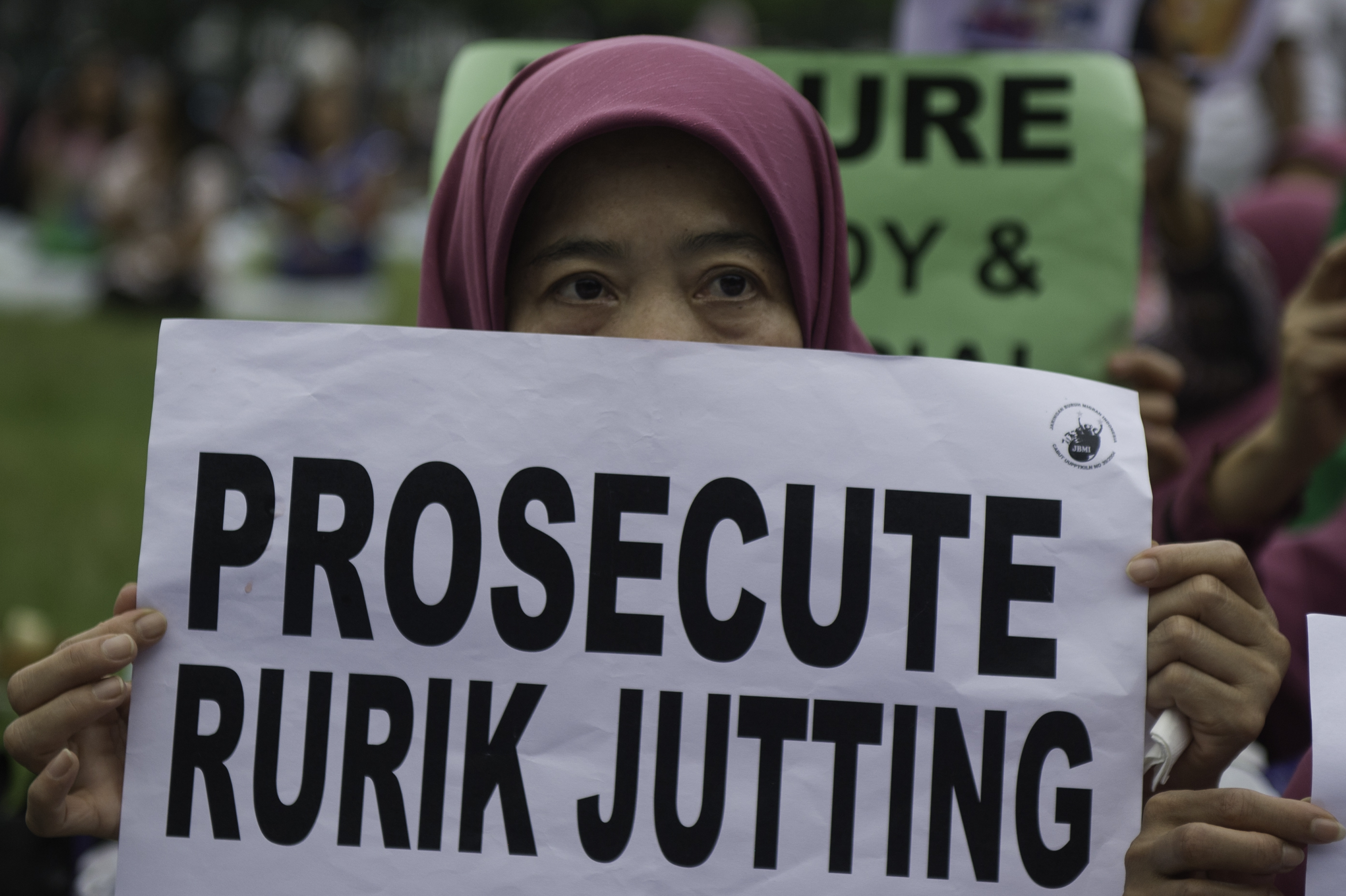 HONG KONG-INDONESIA-BRITAIN-CRIME-MURDER-JUTTING