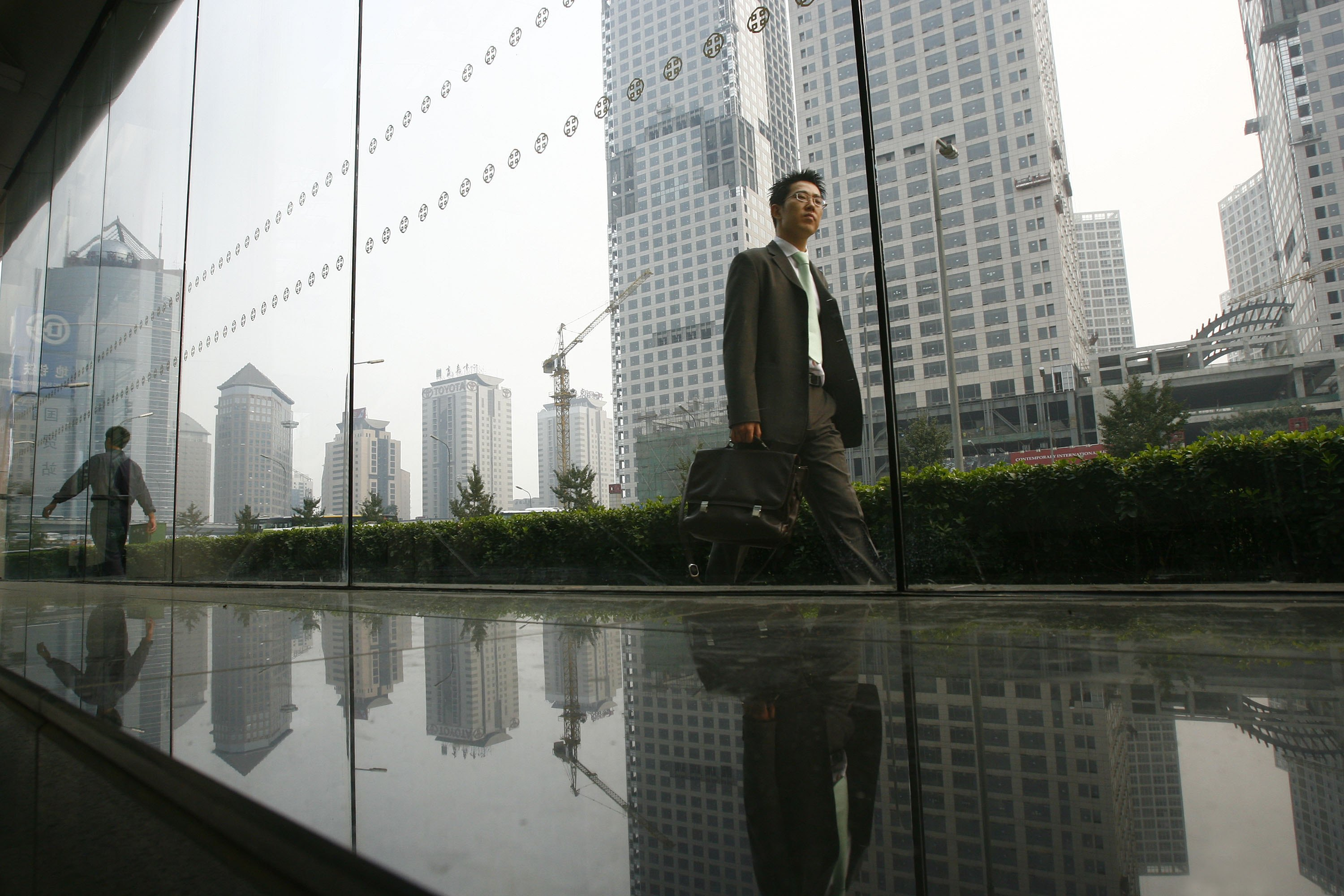 China's Property Market Shows Signs Of Cooling