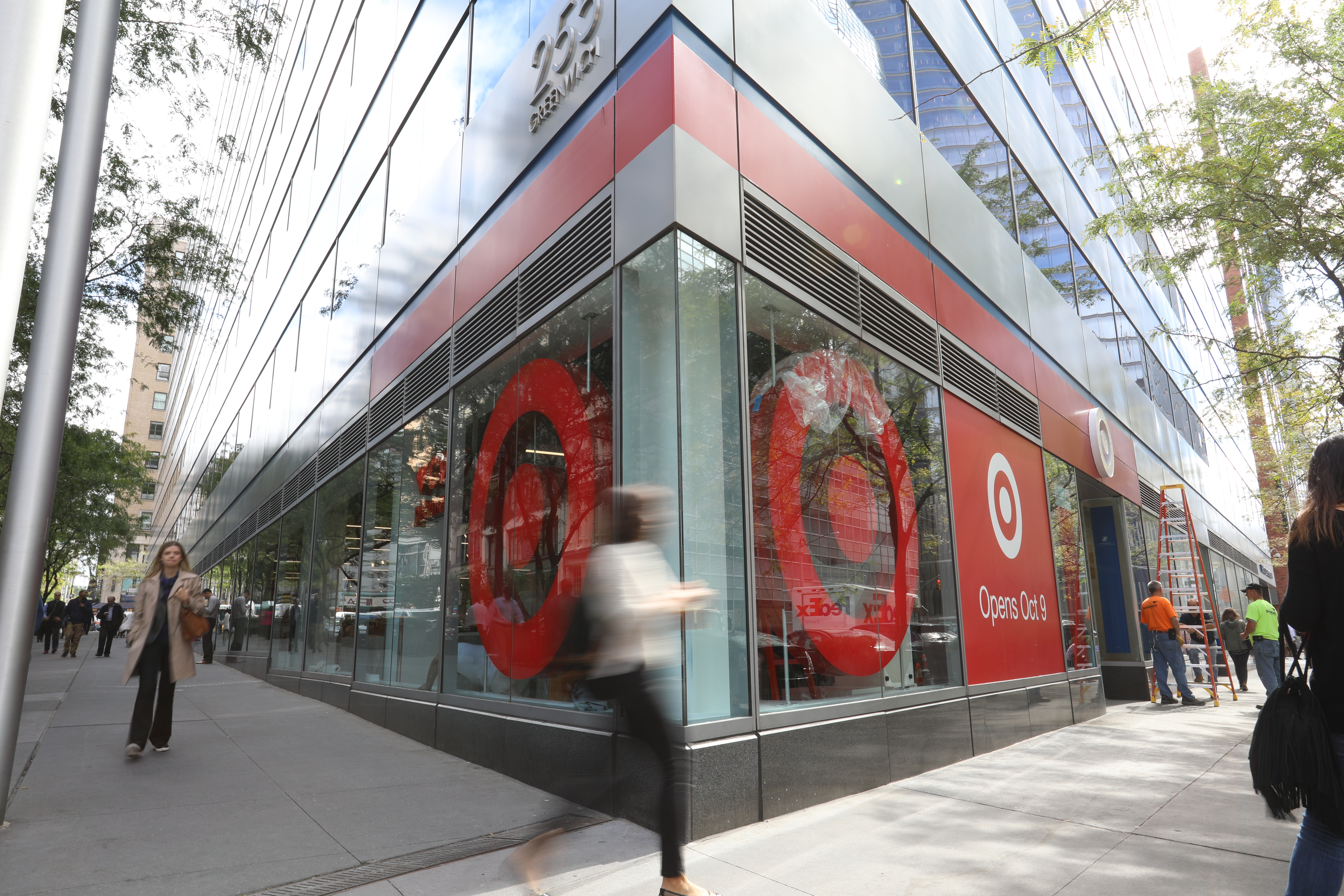 The new Target store opening in Lower Manhattan in October 2016.