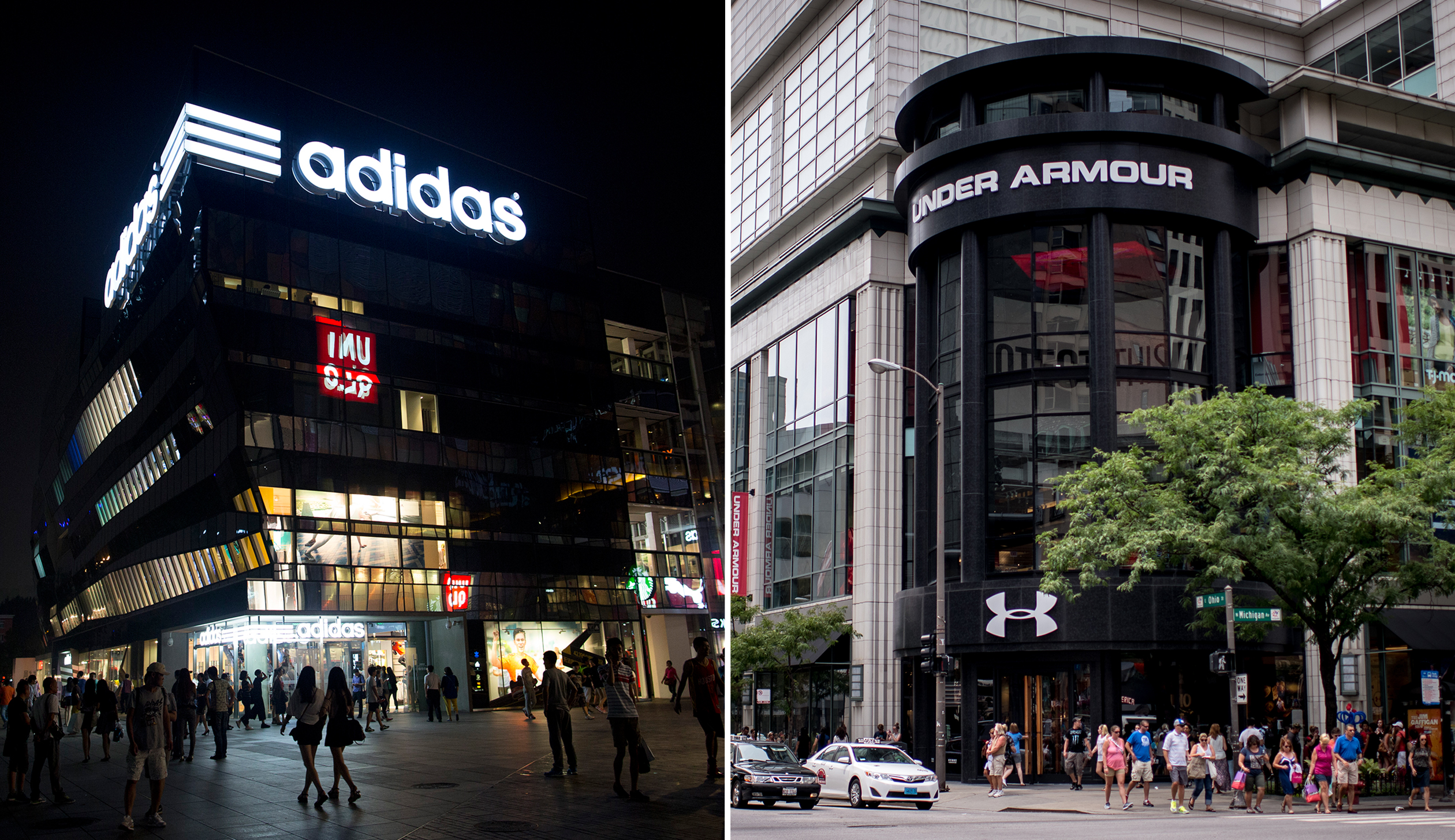 The World's Largest Adidas Store Opens Up In Chicago