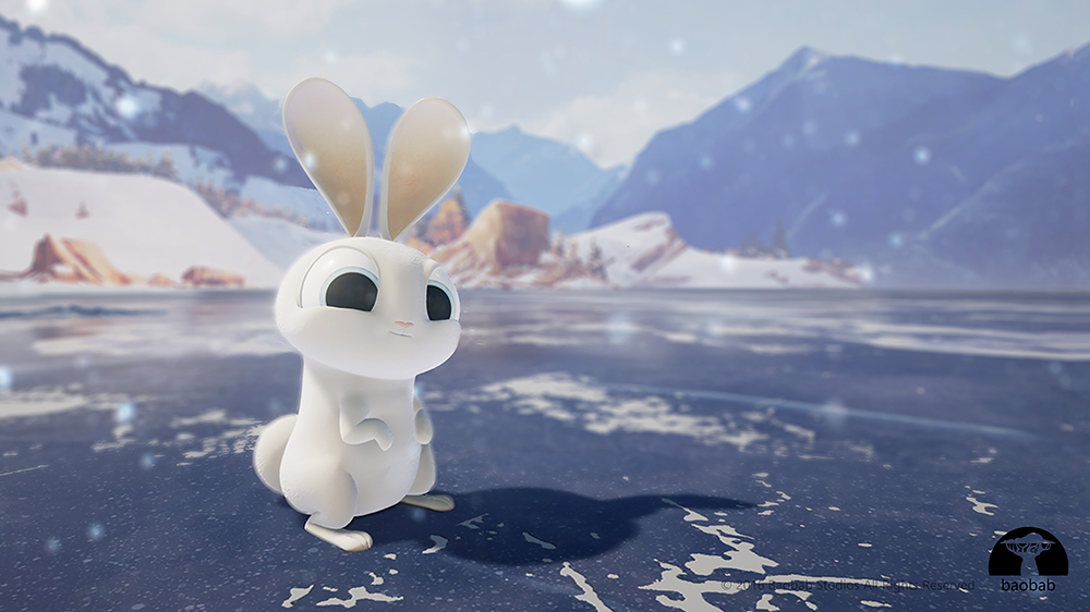 A bunny from the VR animated short Invasion!
