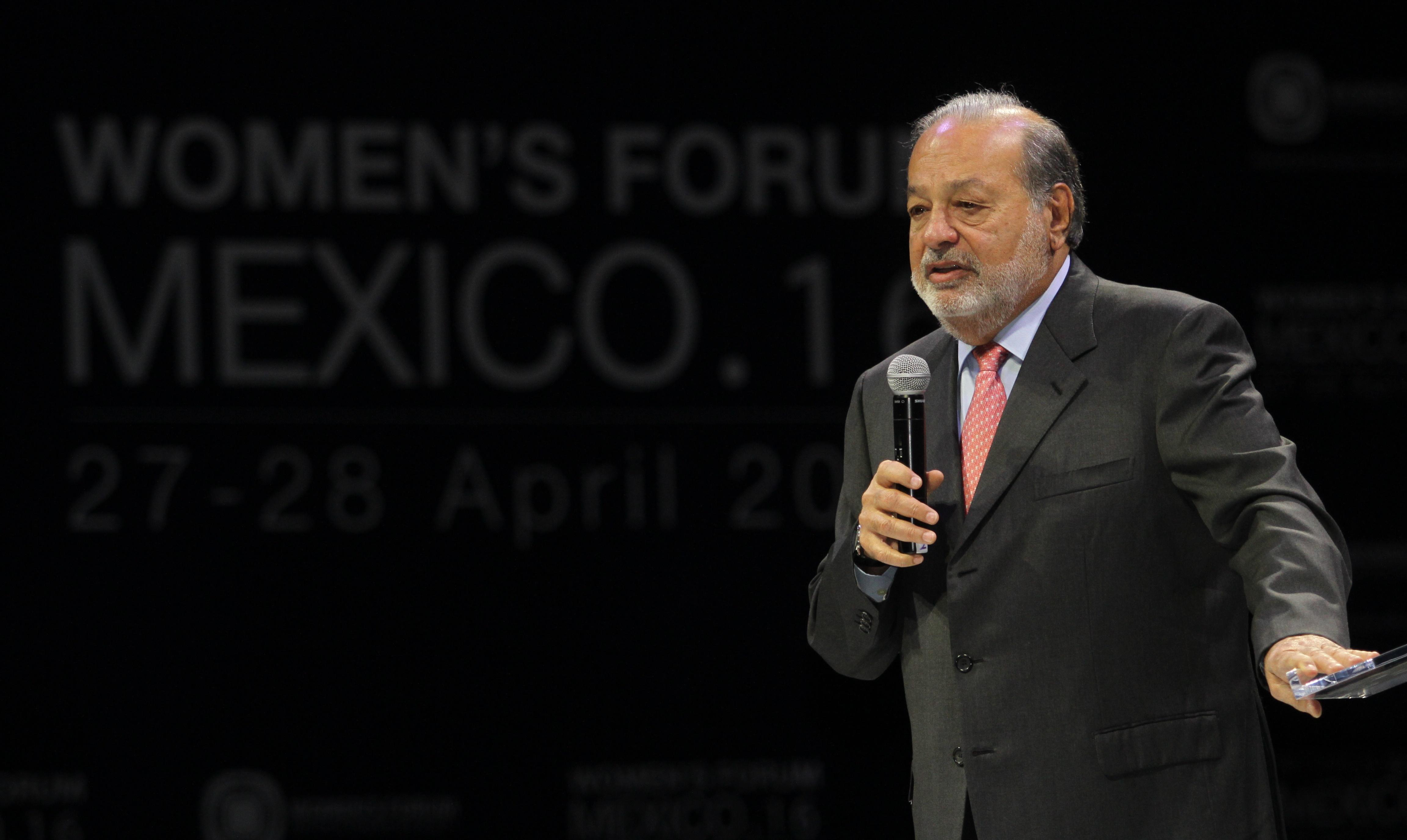 MEXICO-SLIM-WOMEN'S FORUM