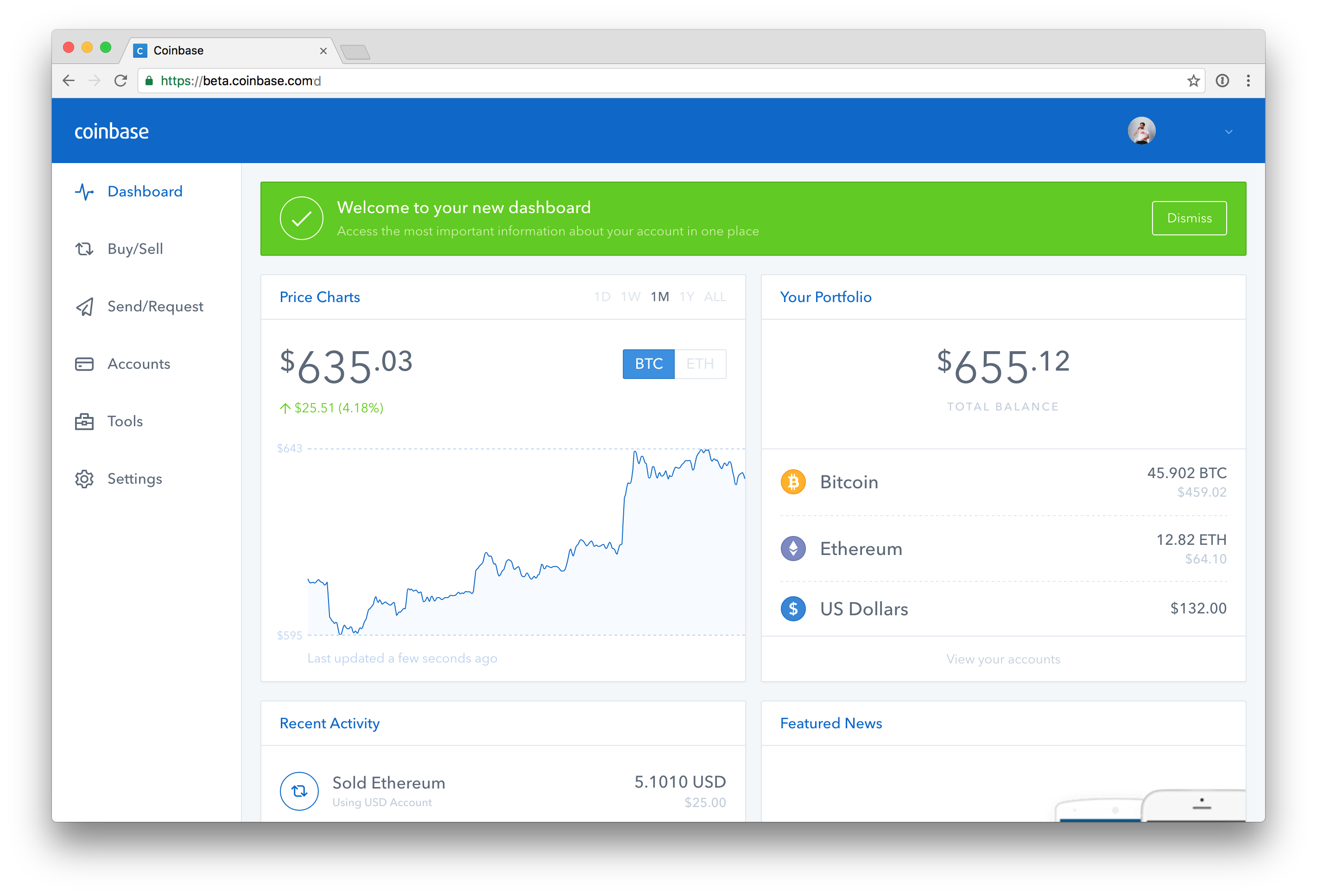 when was ethereum listed on coinbase