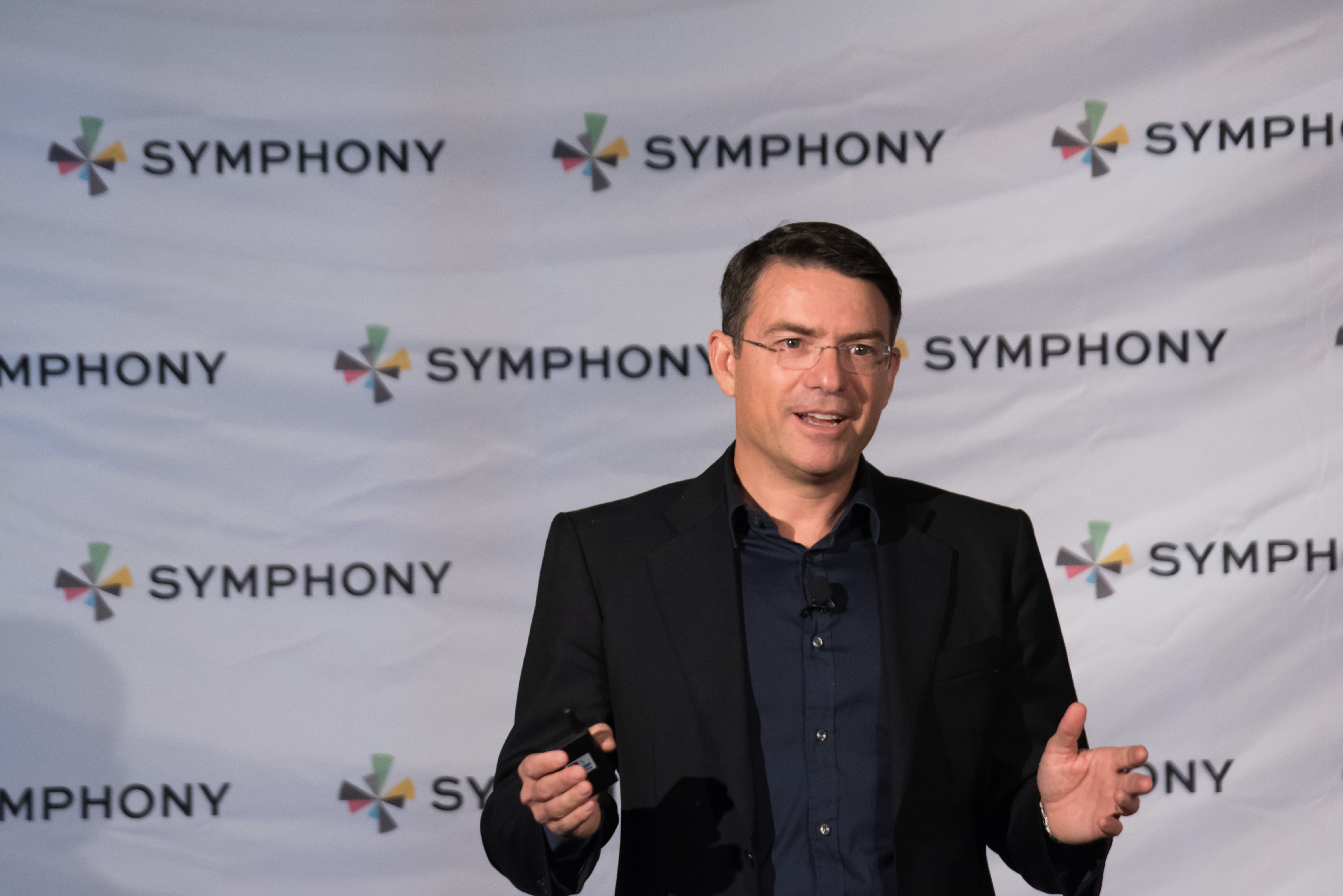 David Gurle, founder and chief executive of Symphony
