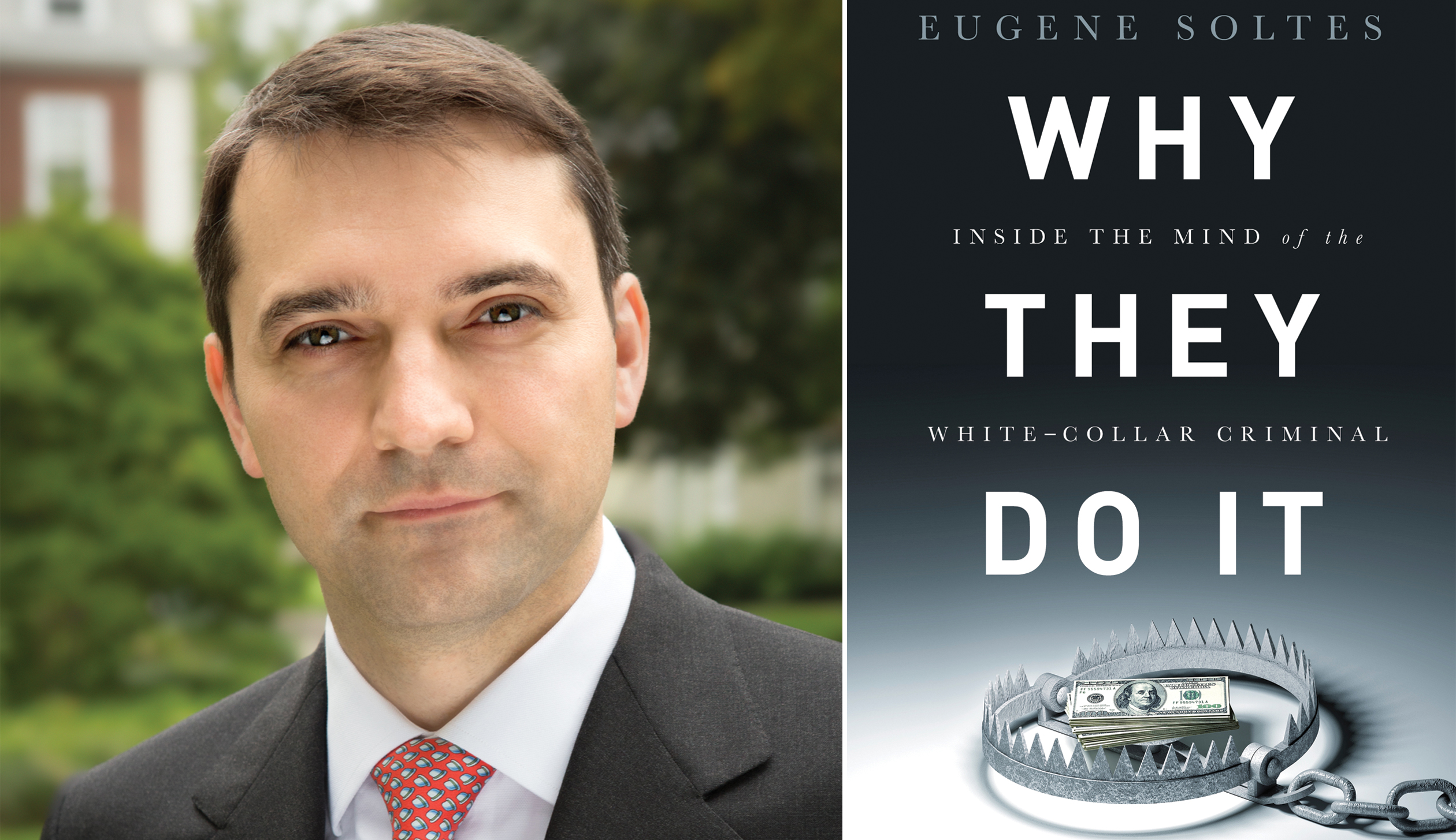 Harvard Business School professor Eugene Soltes.
