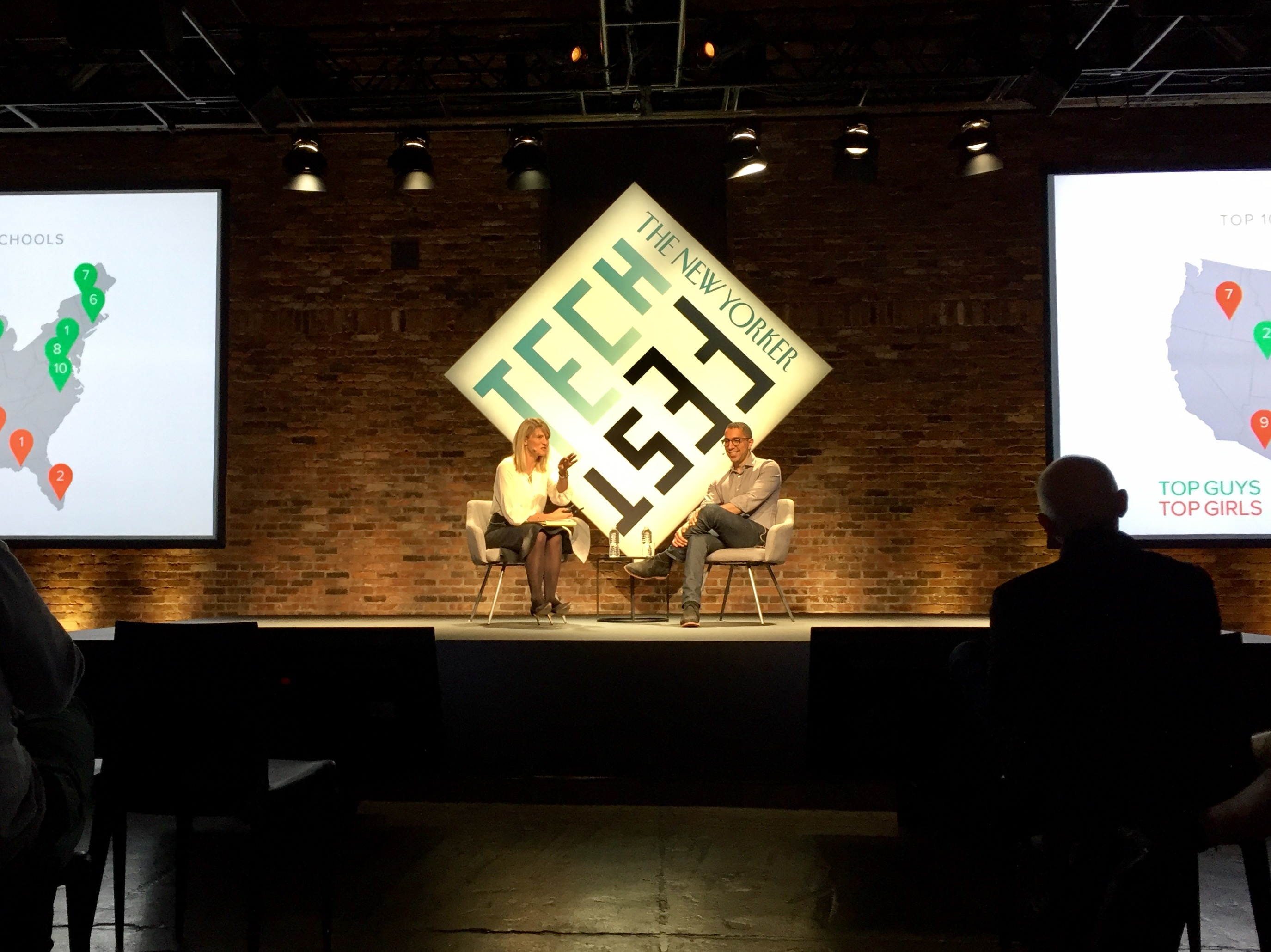 Sean Rad, CEO of Tinder, interviewed by The New Yorker's Dana Goodyear at the New Yorker's TechFest in New York City on October 7, 2016.