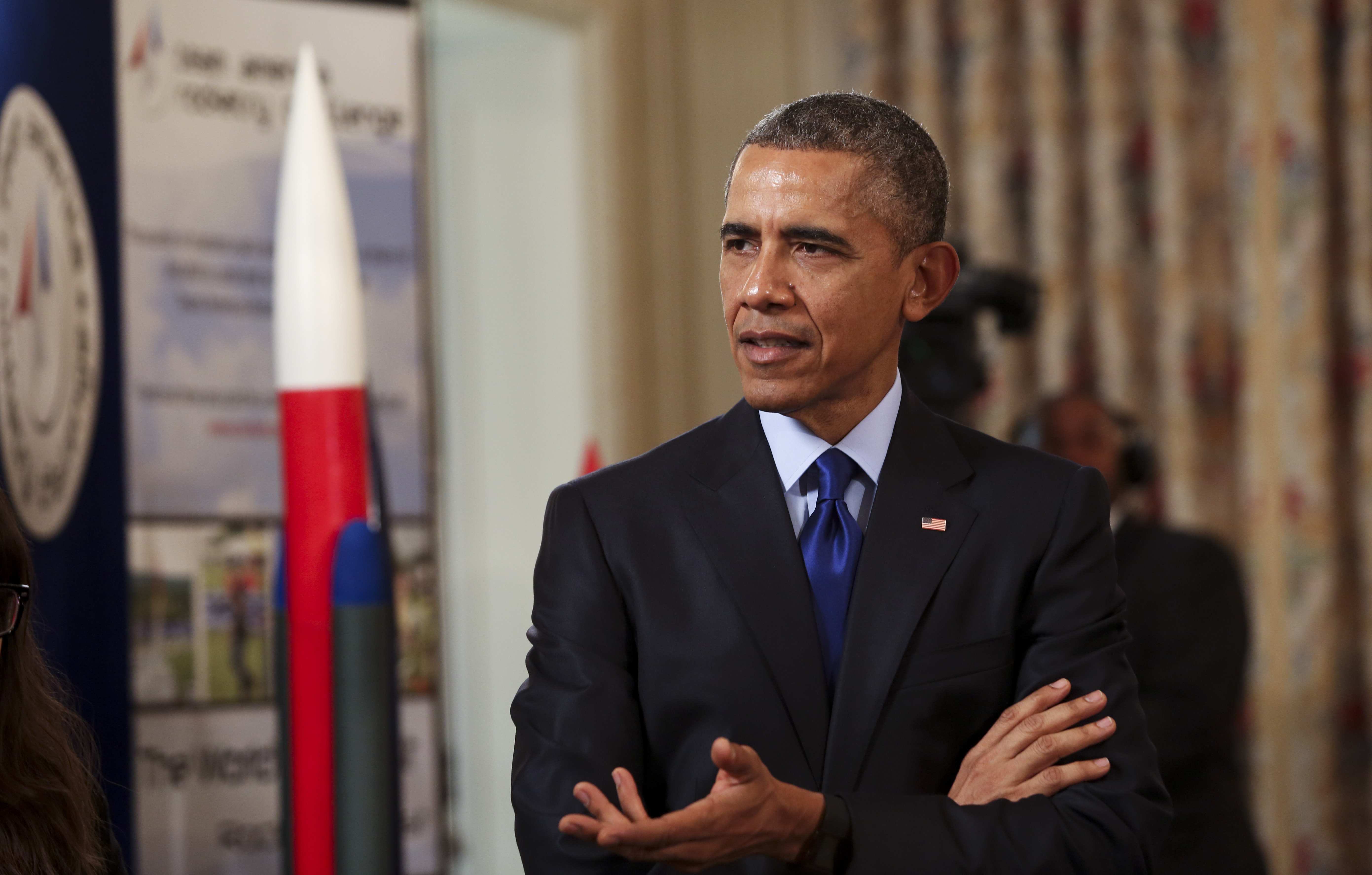 President Hosts White House Science Fair