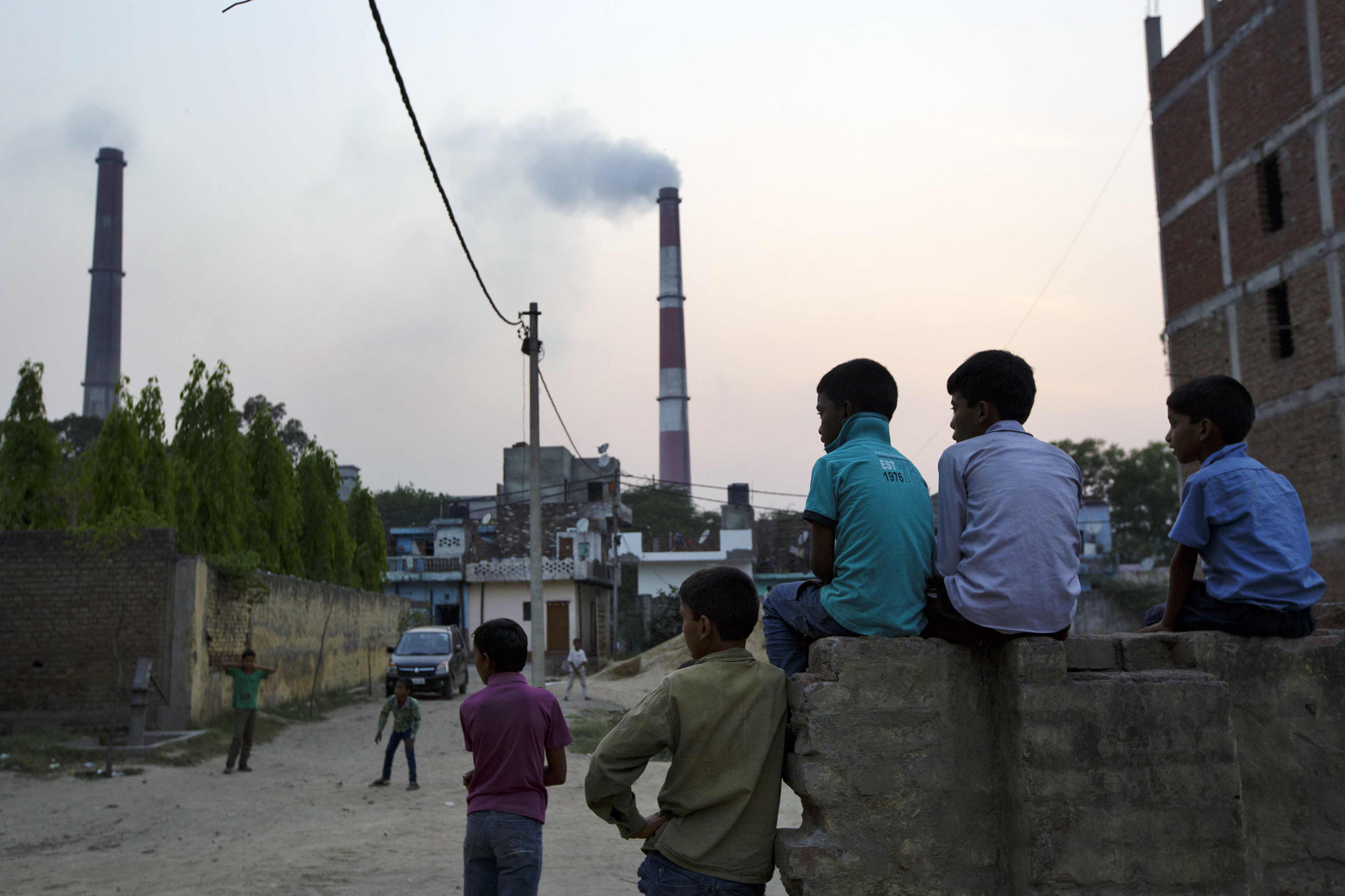 Views Around The NTPC Ltd. Badarpur Coal Plant As World's Worst Air Spurs Clean Up