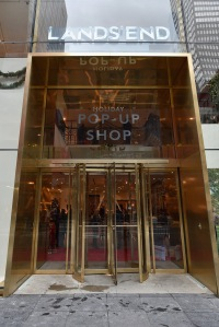 Lands' End Celebrates Opening Of NYC Pop-Up On Vererans Day With Bob Woodruff Foundation