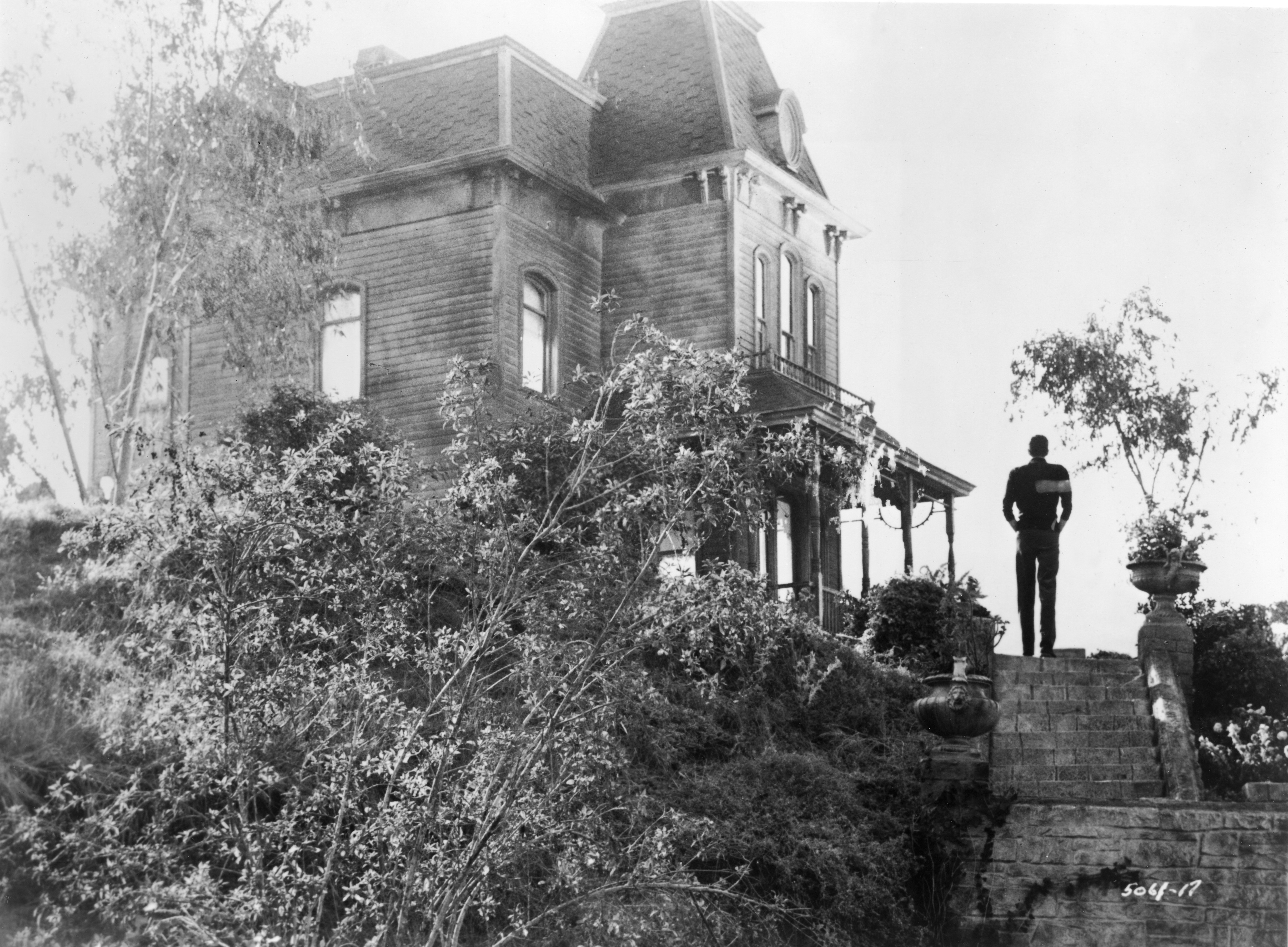 Anthony Perkins & Bates Motel In 'Psycho'