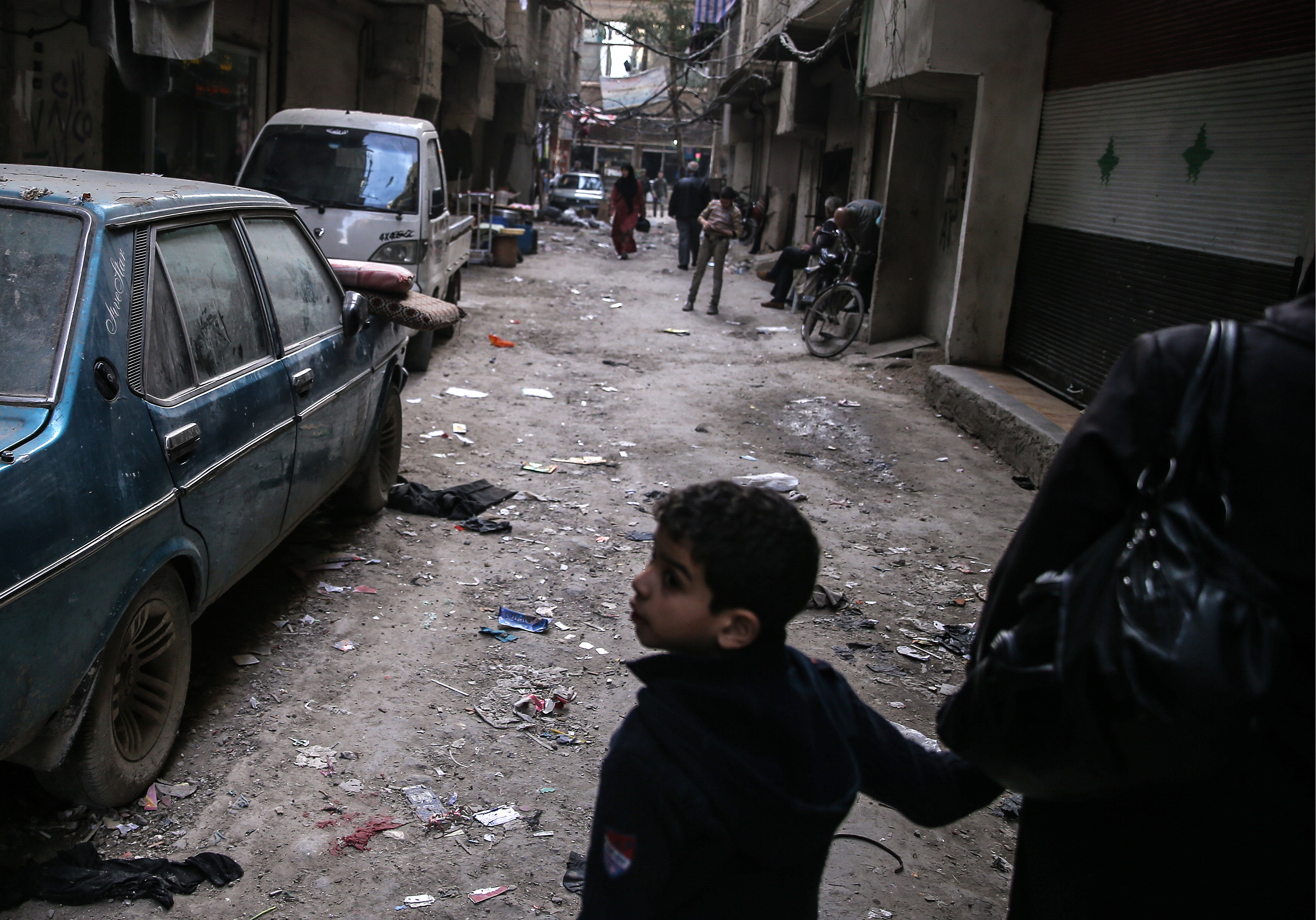 Ceasefire in liberated districts of Syrian capital, Damascus