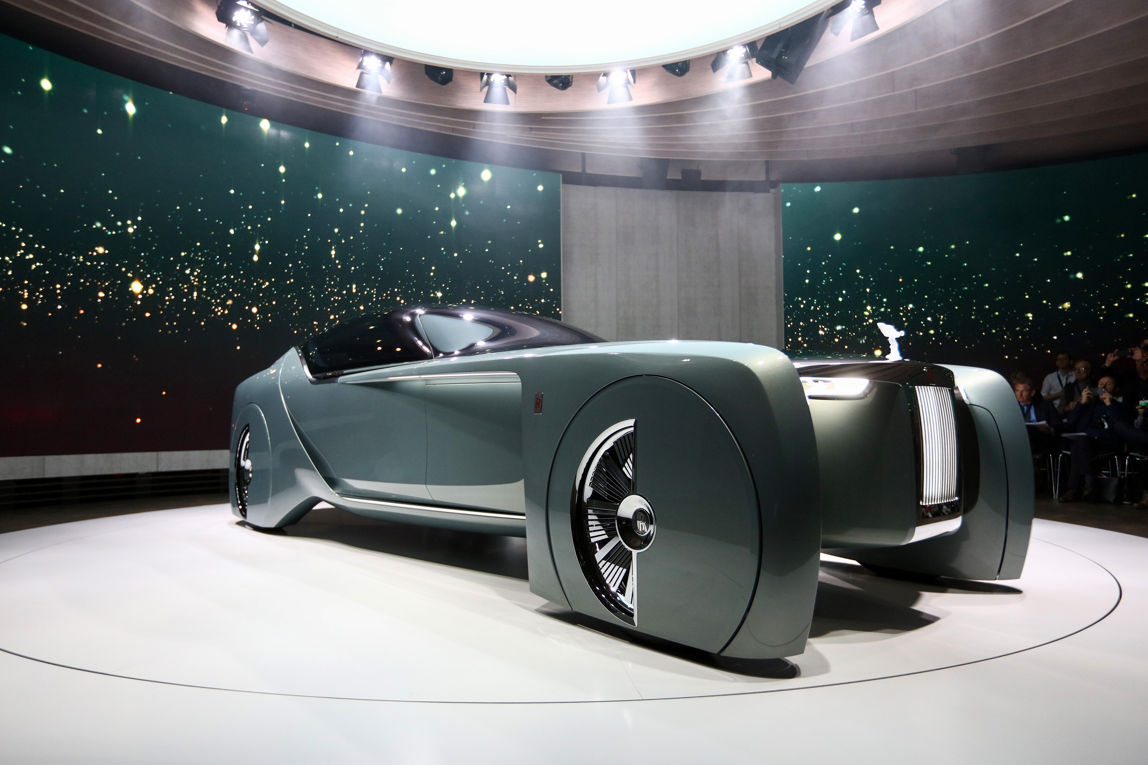 BMW AG Unveil Concept Cars For Their Mini And Rolls-Royce Brands