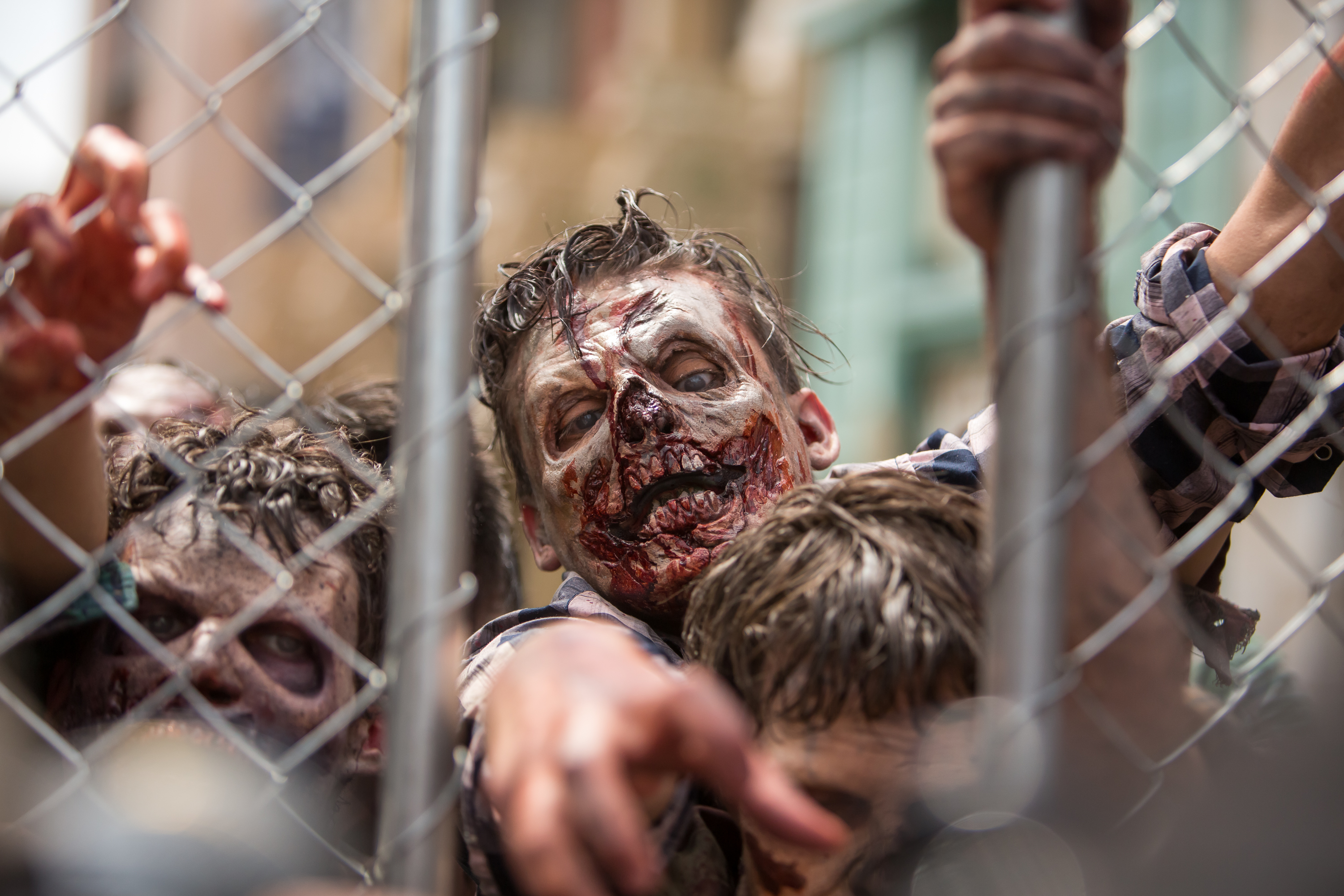"""Press Event For """"The Walking Dead"""" Attraction """"Don't Open, Dead Inside"""" At Universal Studios Hollywood - Arrivals"""