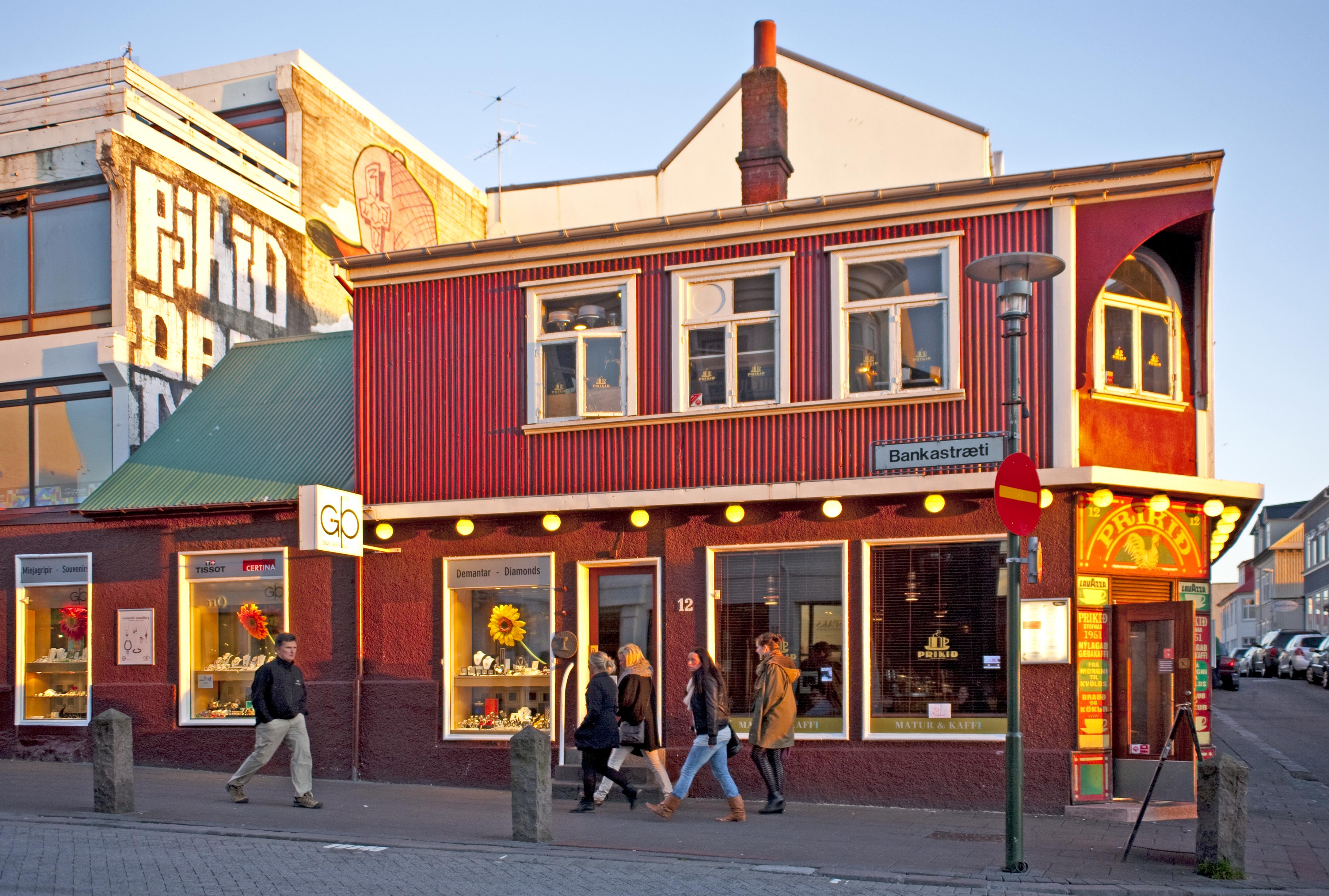 Shopping street - Bankastraeti und Laugavegur, Reykjavik
