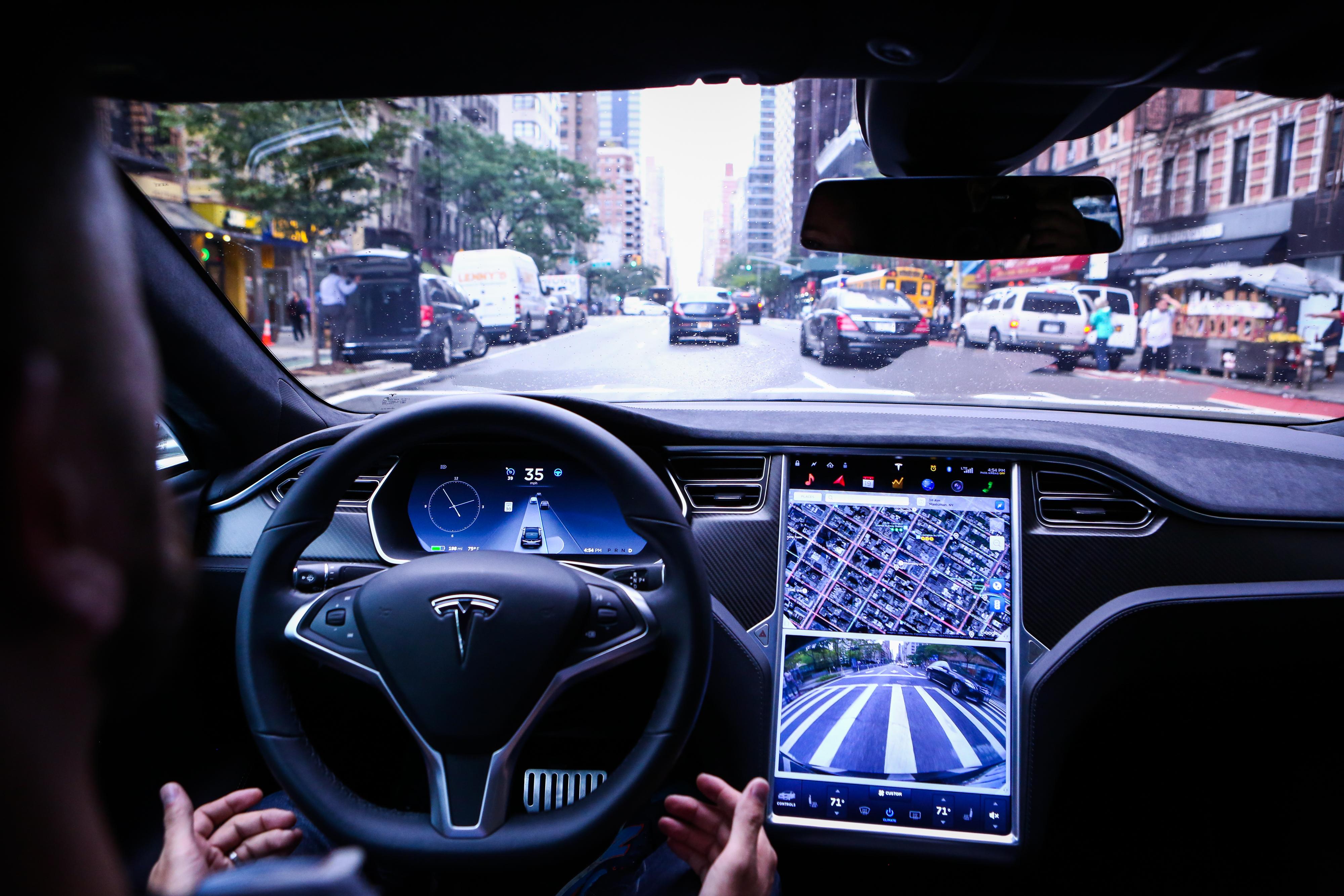 A Tesla Motors Inc. Software Update