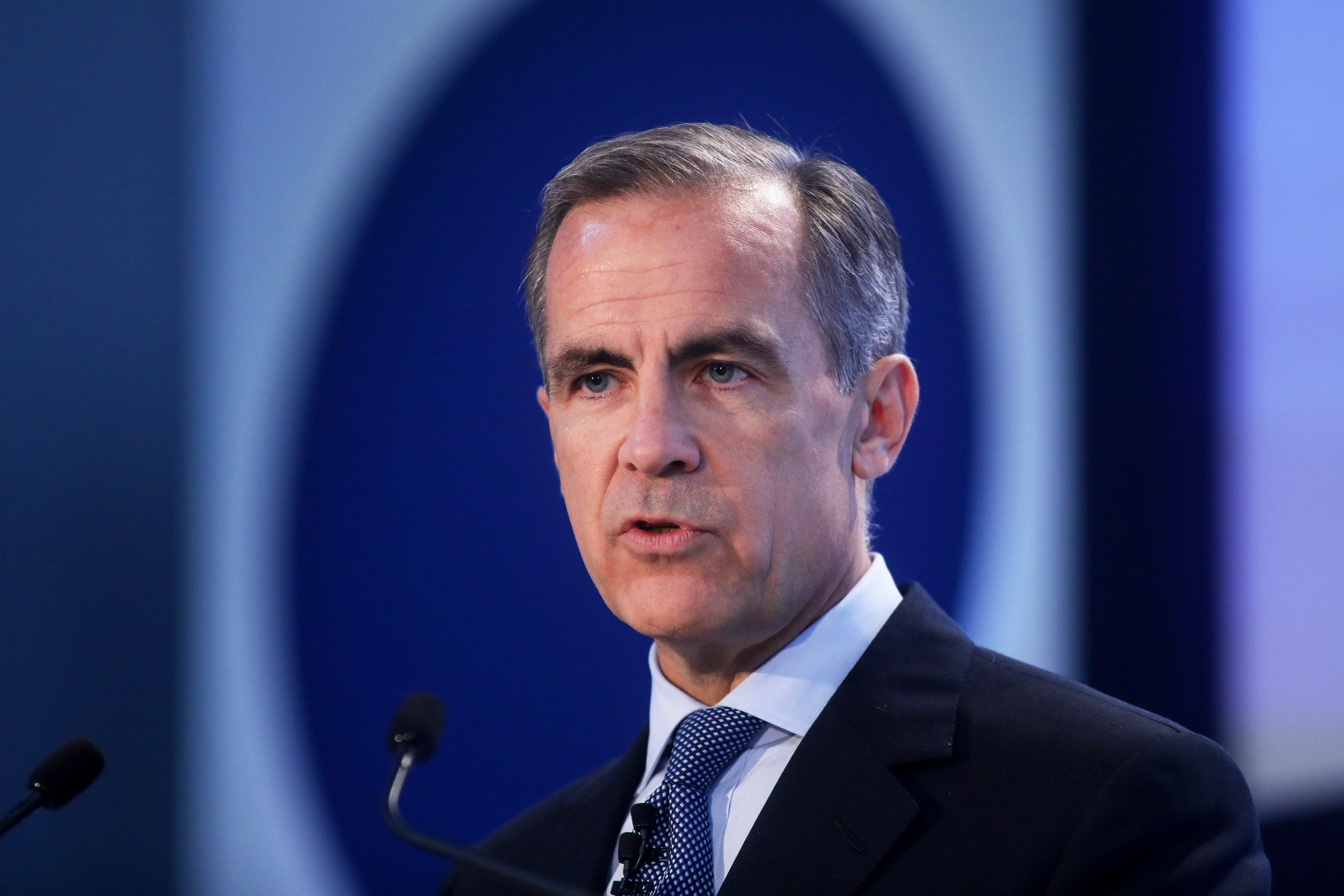 Bank Of England Governor Mark Carney Hosts The Future Forum