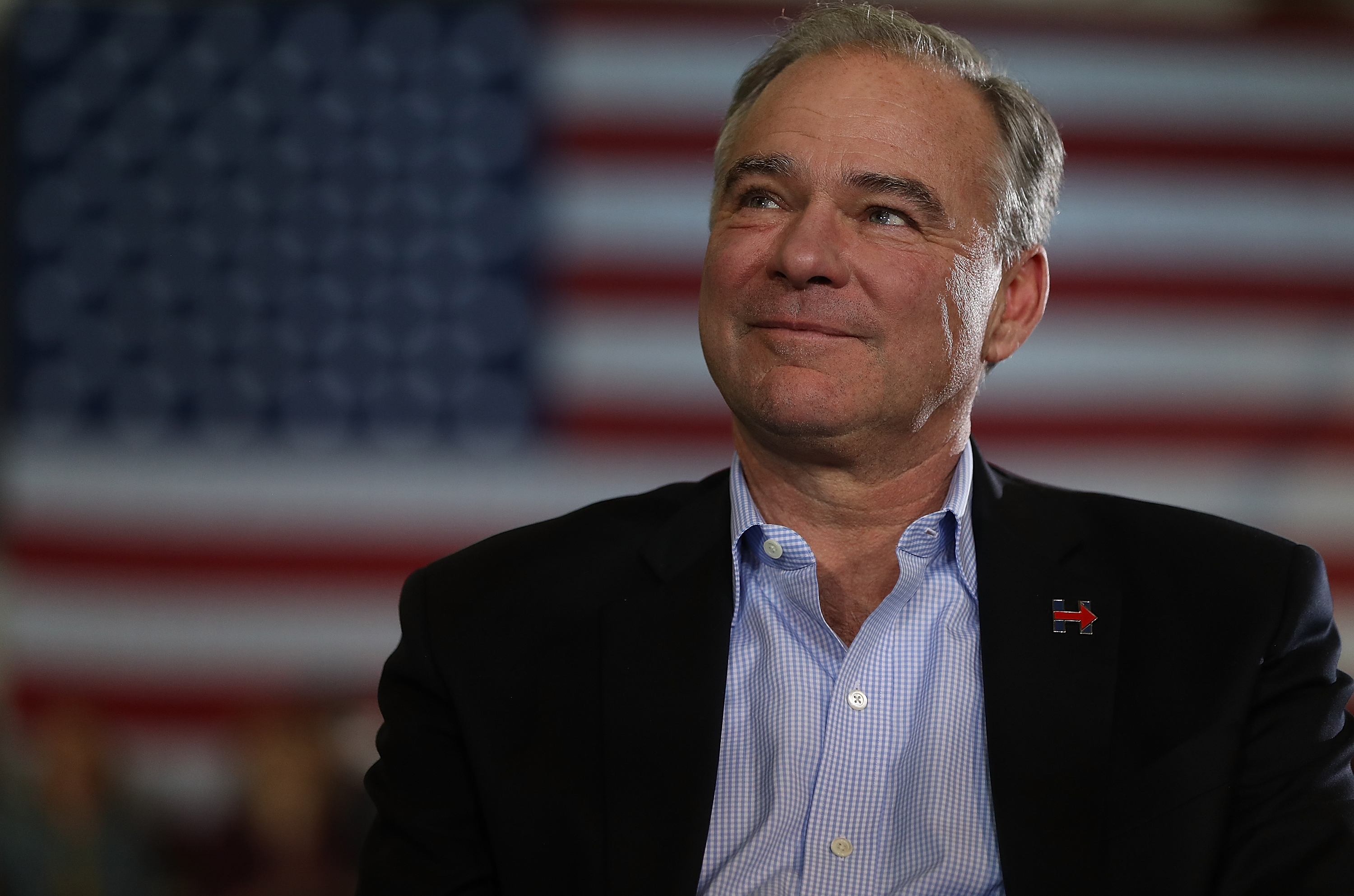 Hillary Clinton And Tim Kaine Campaign Together In Pennsylvania