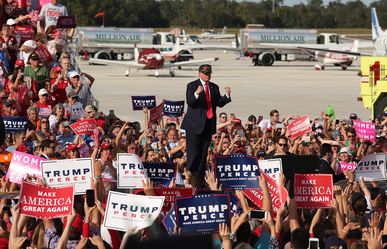 Donald Trump rally in Sanford, Fla.