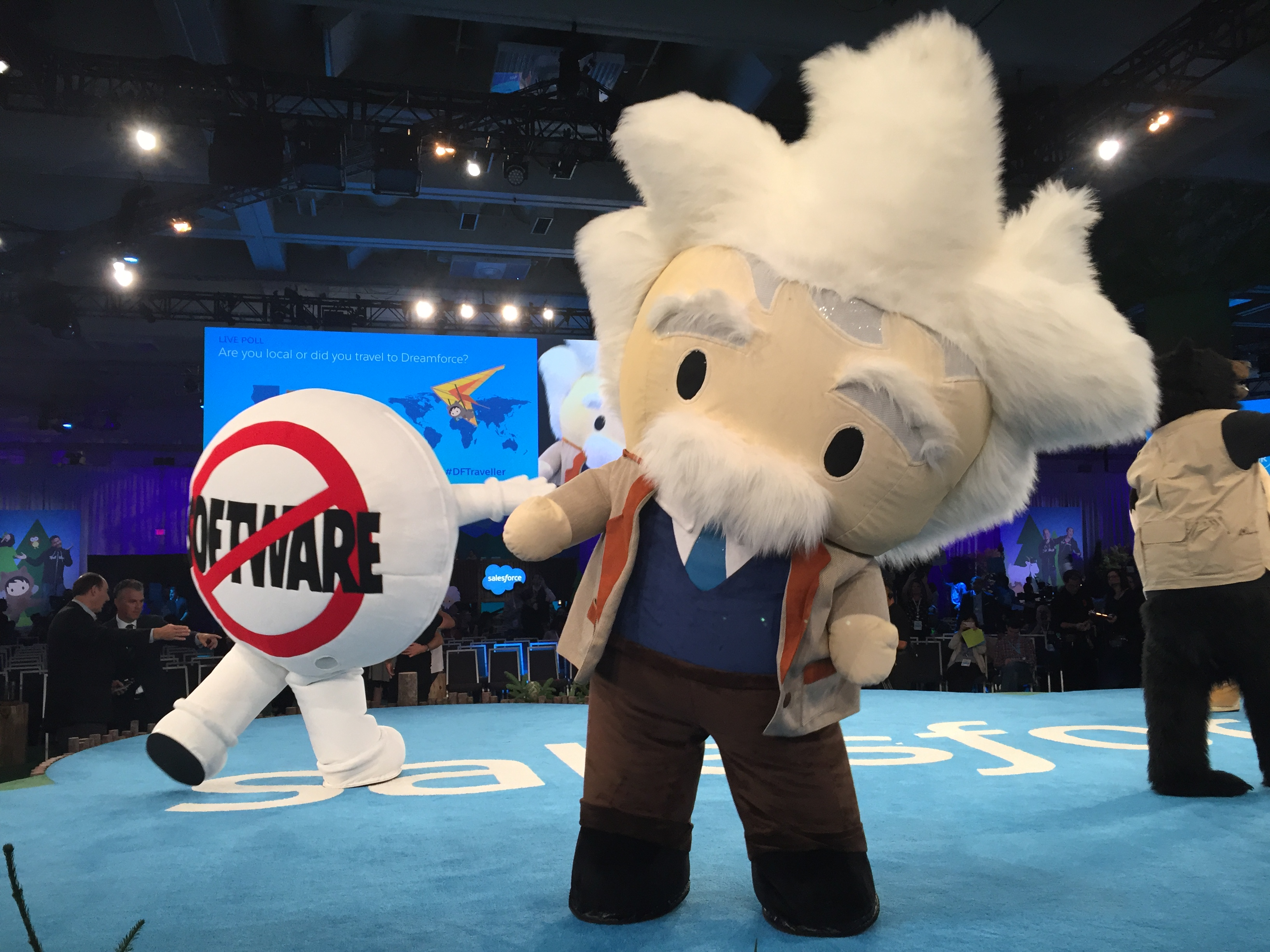 Salesforce's Dreamforce 2016 event.