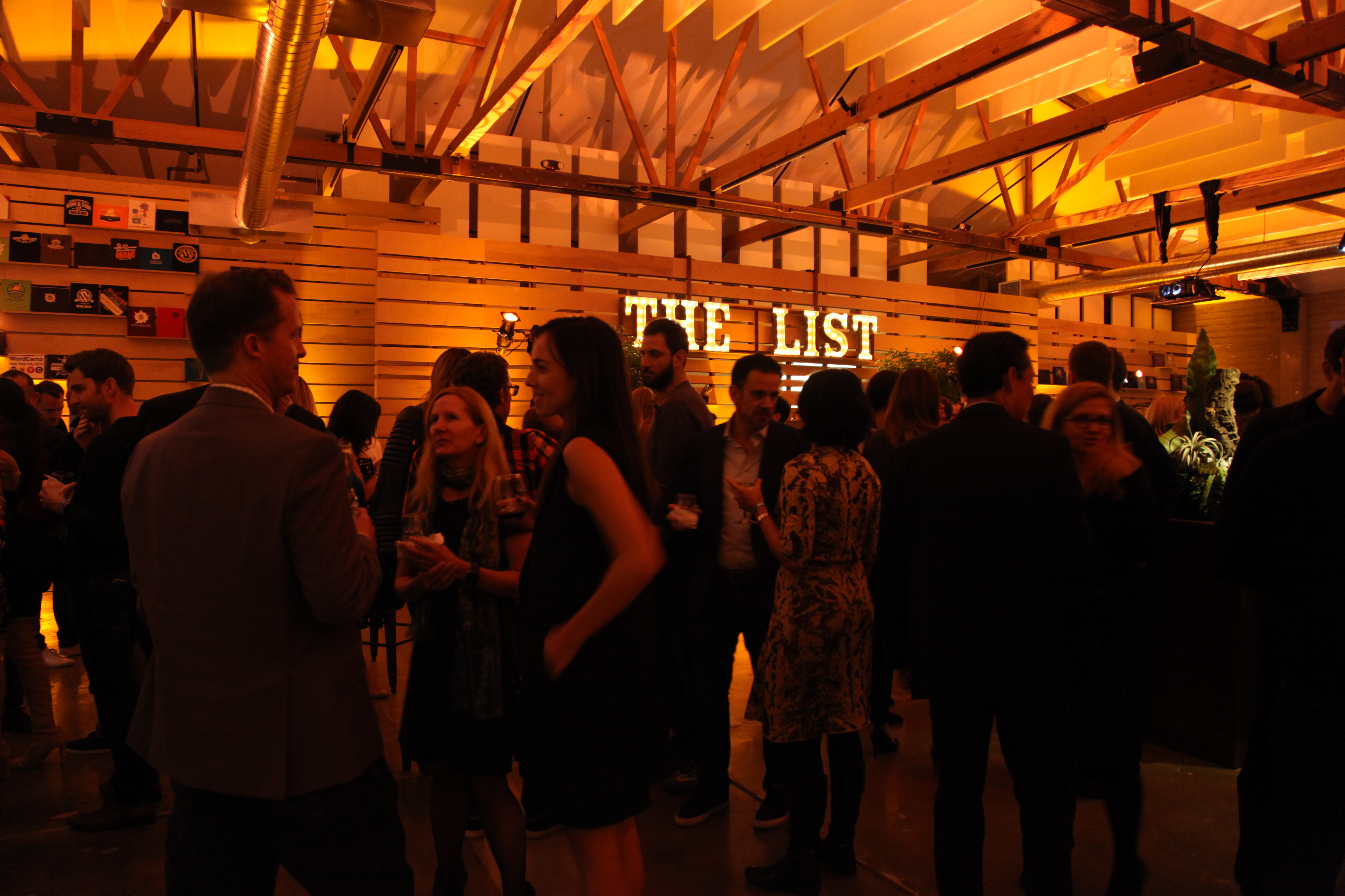 Fortune's 40 Under 40 party guests socialize on October 13, 2016 in San Francisco, California.