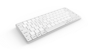 Sonder Design's new dynamic keyboard with e-ink keys.