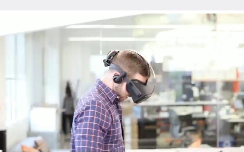 New Oculus Headset Prototype