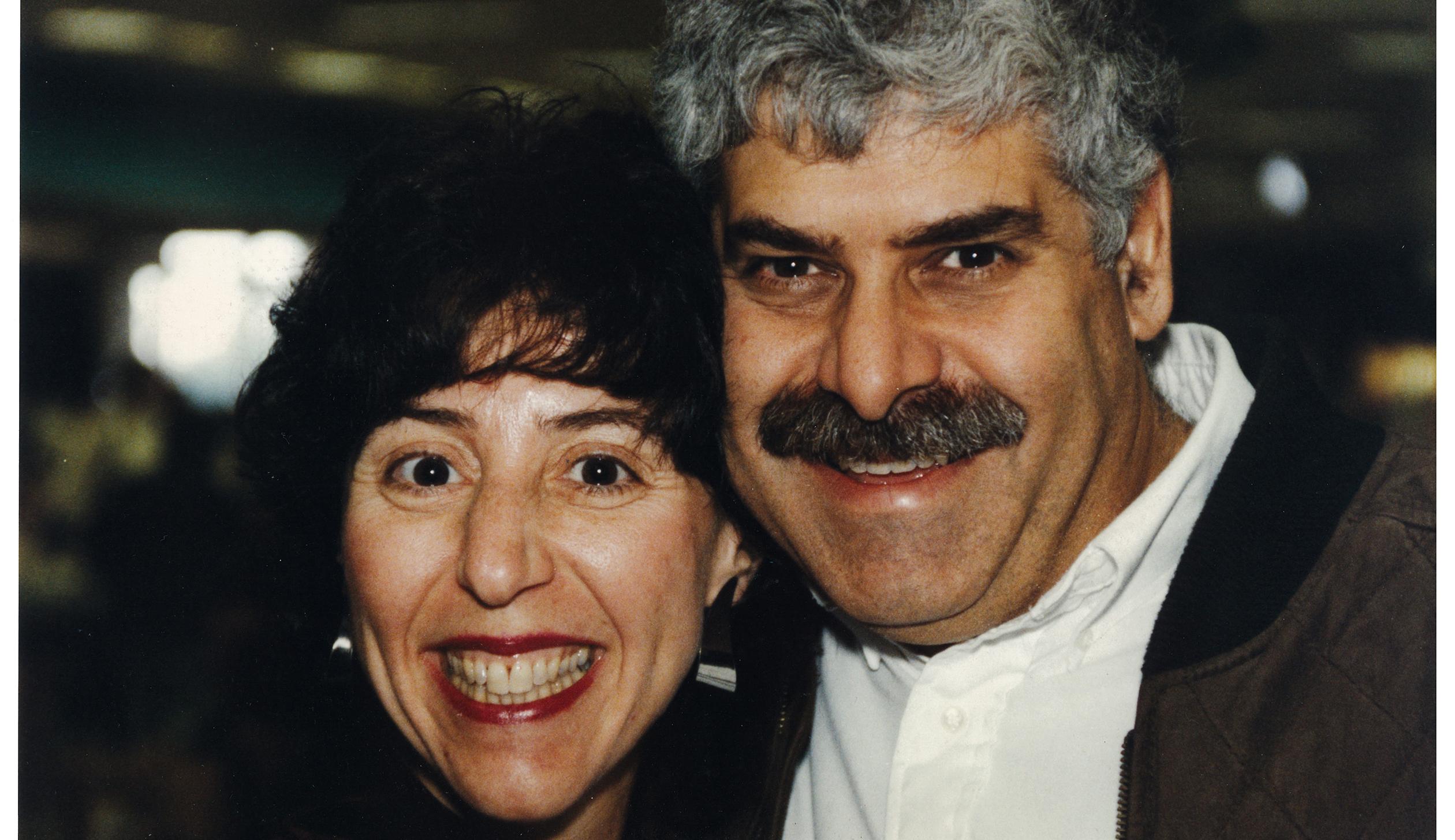 Ora Pescovitz and her late husband, Mark.