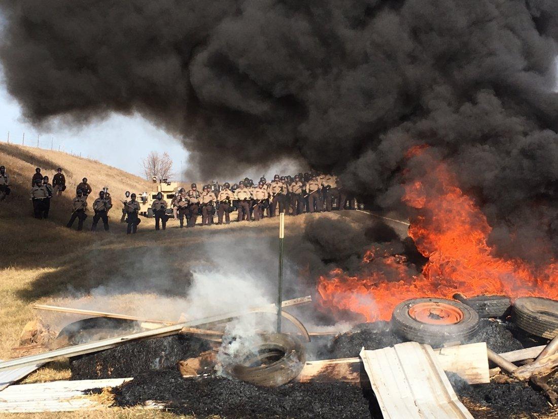 Oregon Standoff Dakota Pipeline