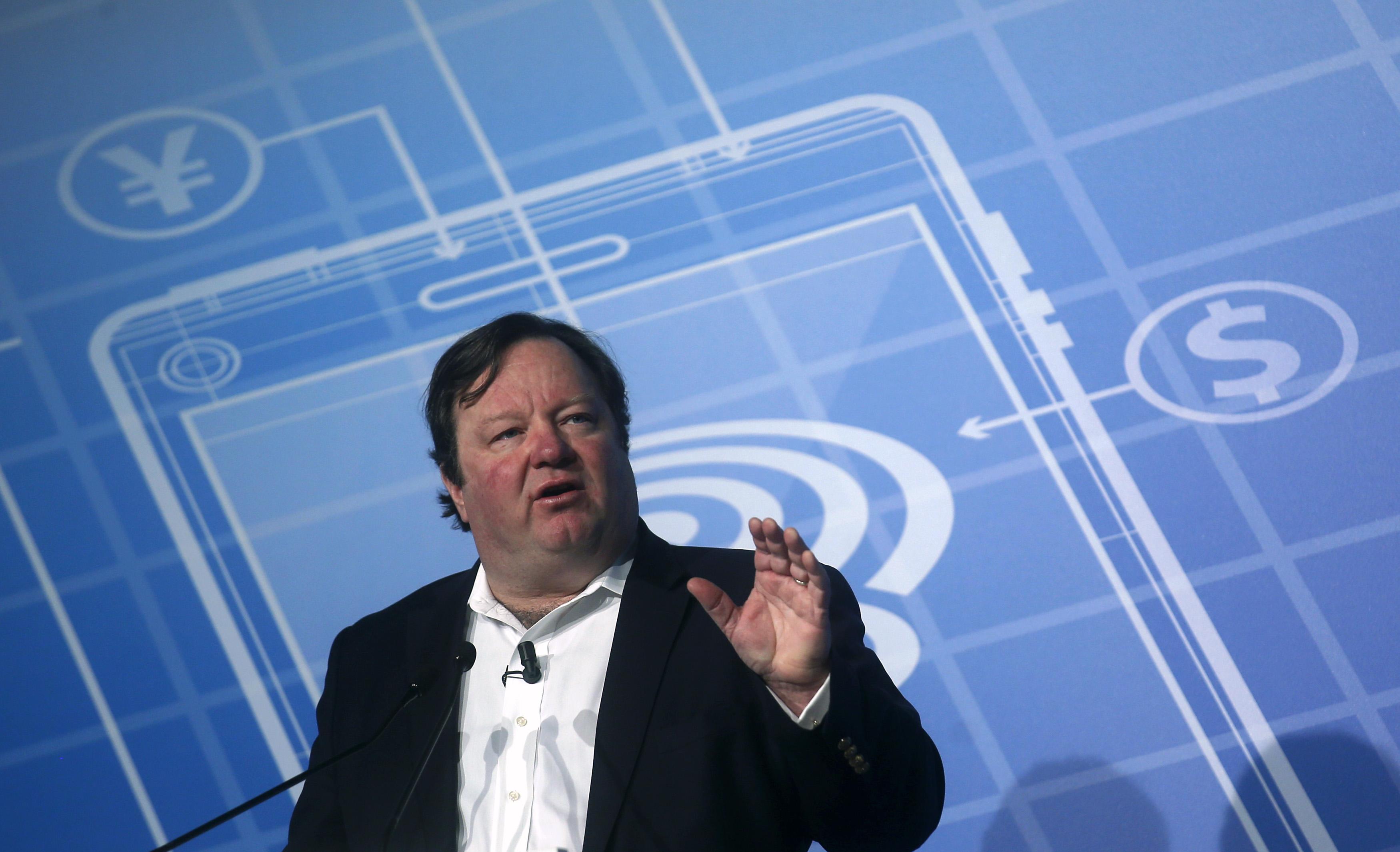 Viacom International Media Networks President and CEO Bakish speaks at the Mobile World Congress in Barcelona