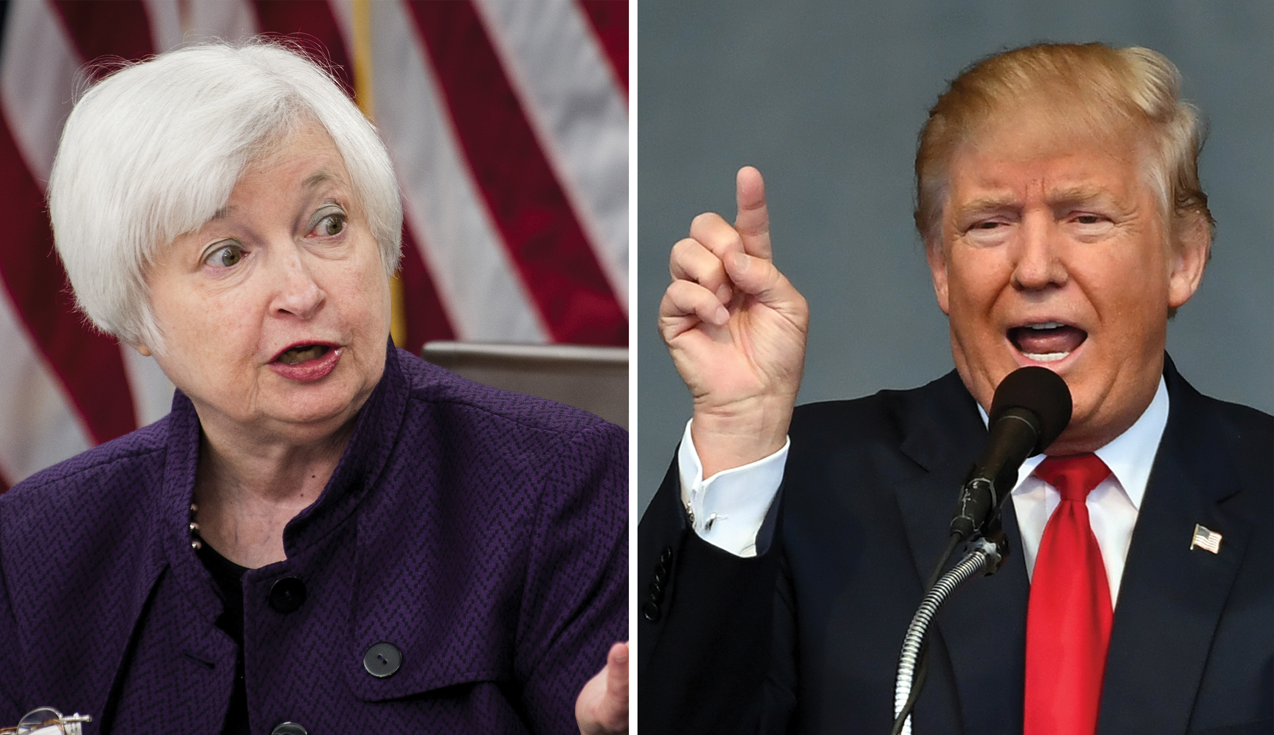 High interest rates could disrupt Donald Trump's economic agenda, regardless of what the Fed does under Janet Yellen.