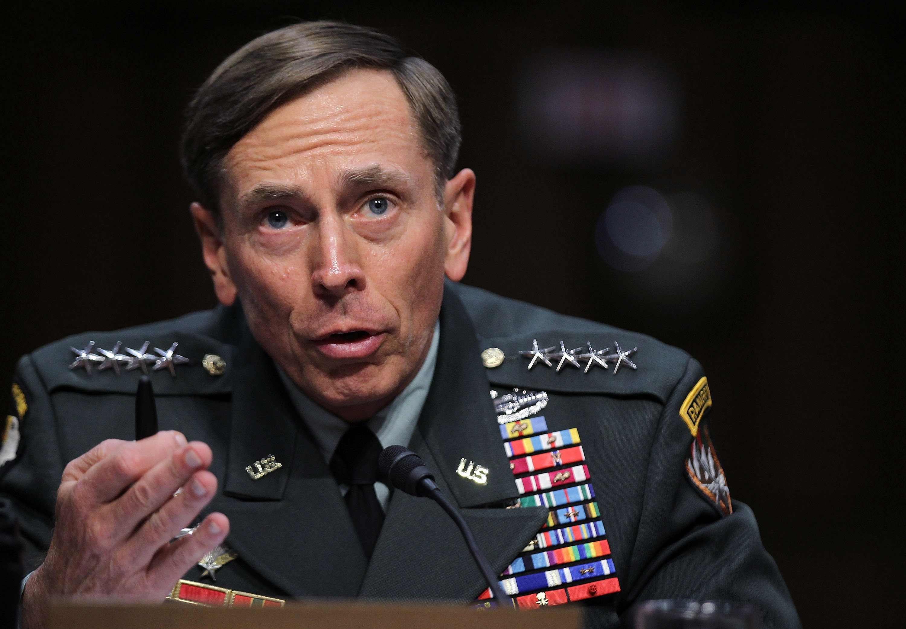 Petraeus Testifies At His Senate Confirmation Hearing For CIA Director