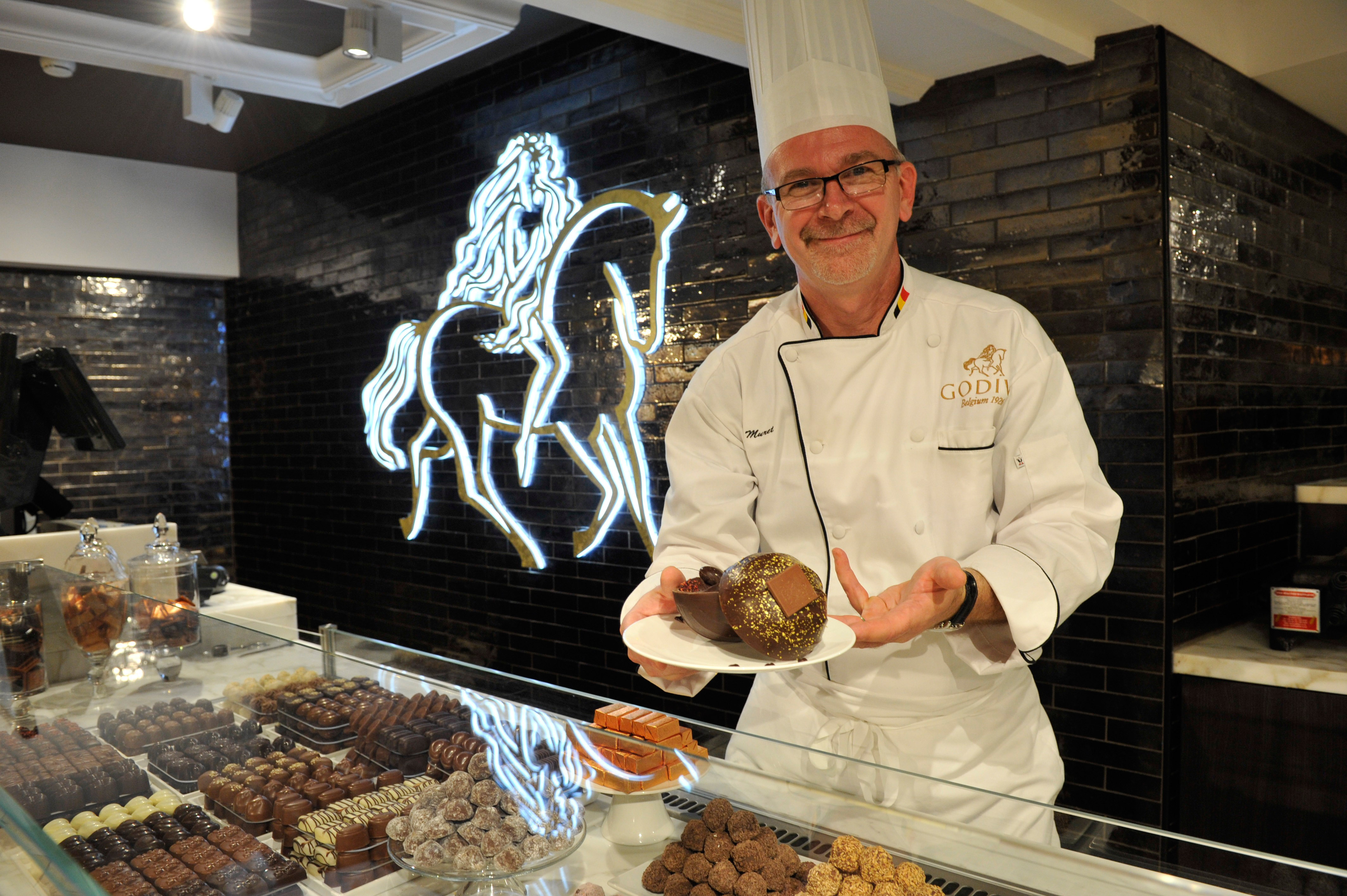Godiva Chocolate Cafe Opening At Harrods