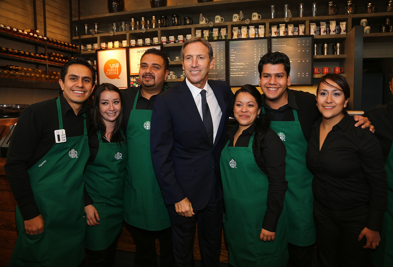 Starbucks Mexico 10th Anniversary Press Conference