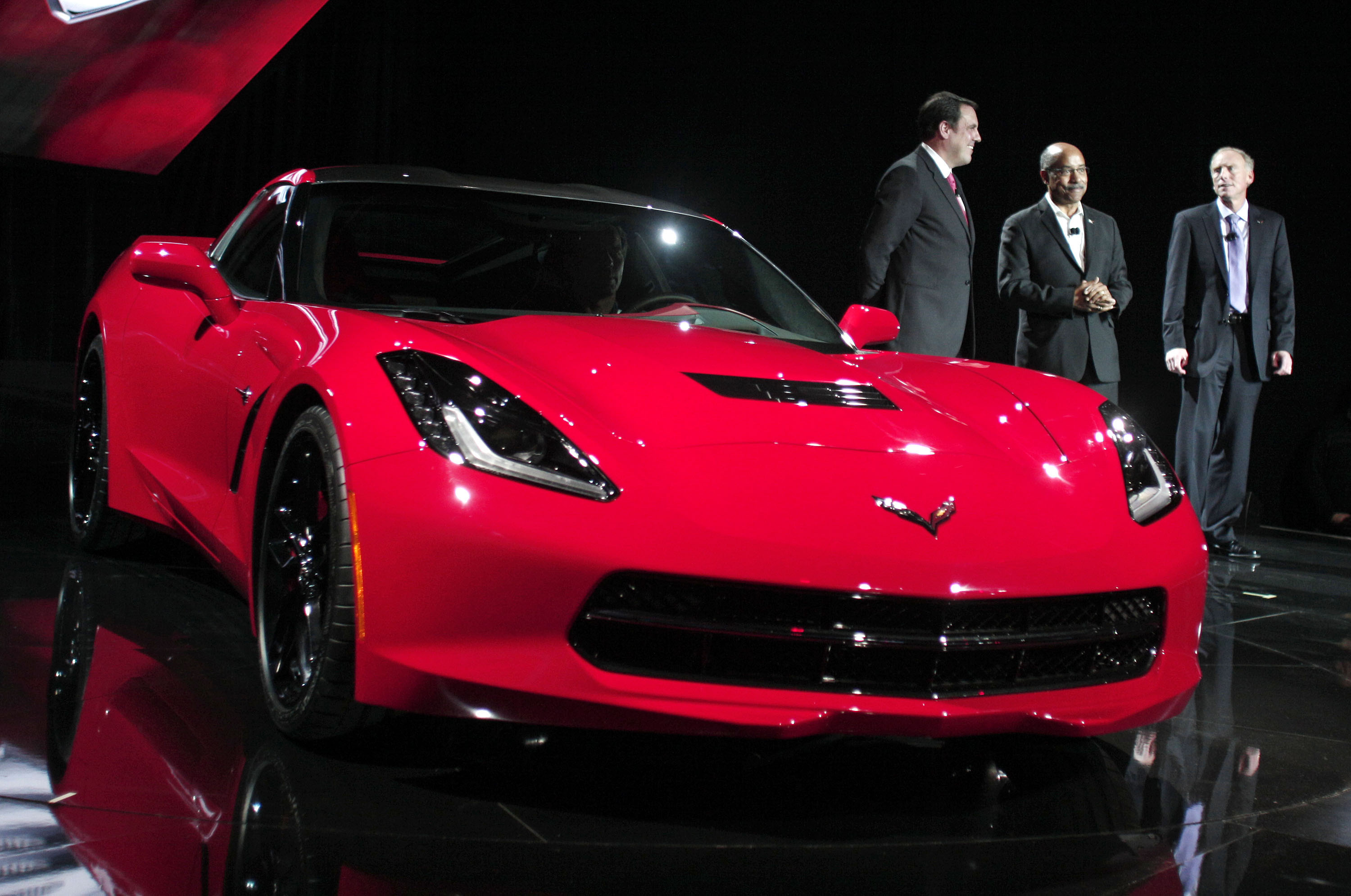 The 7th-generation Chevrolet Corvette, the C7.