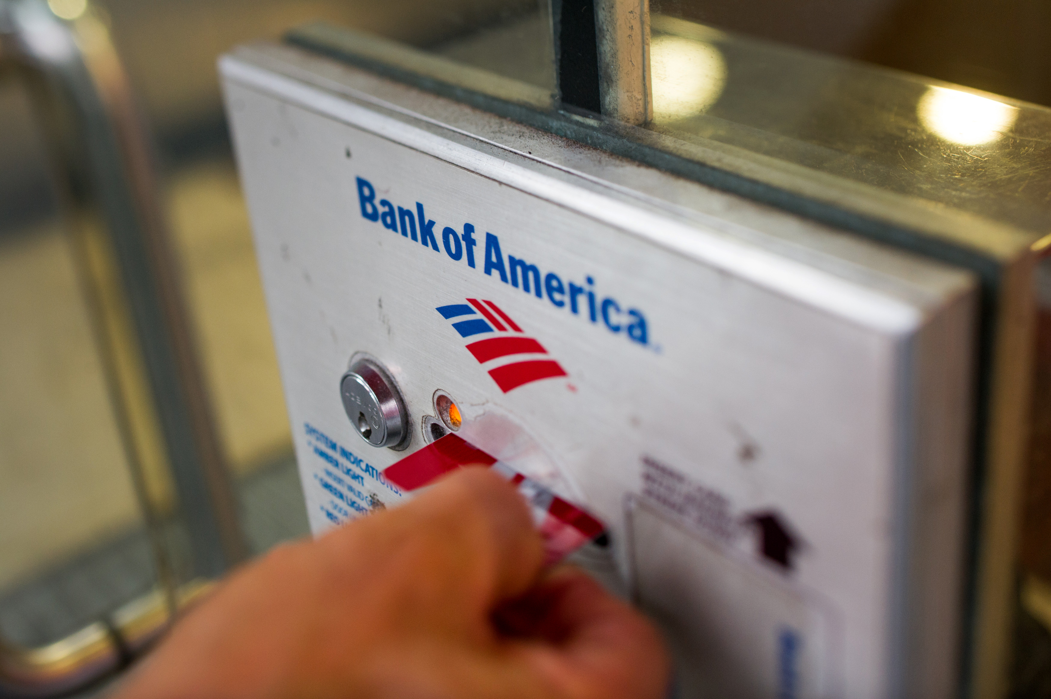 Bank Of America Rises As Firm Seeks $1.5 Billion In Construction Bank Exit
