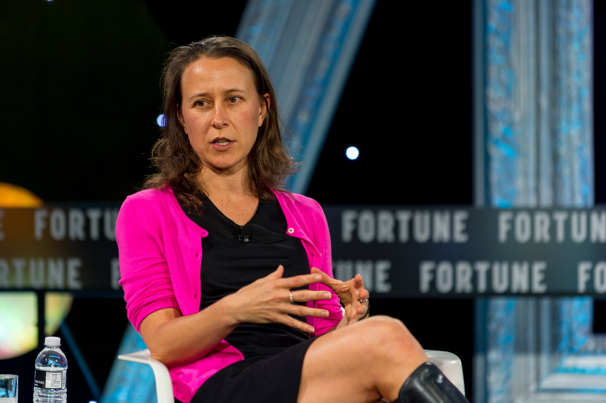 23andMe founder Anne Wojcicki at Fortune's MPW Next Gen 2016 conference.