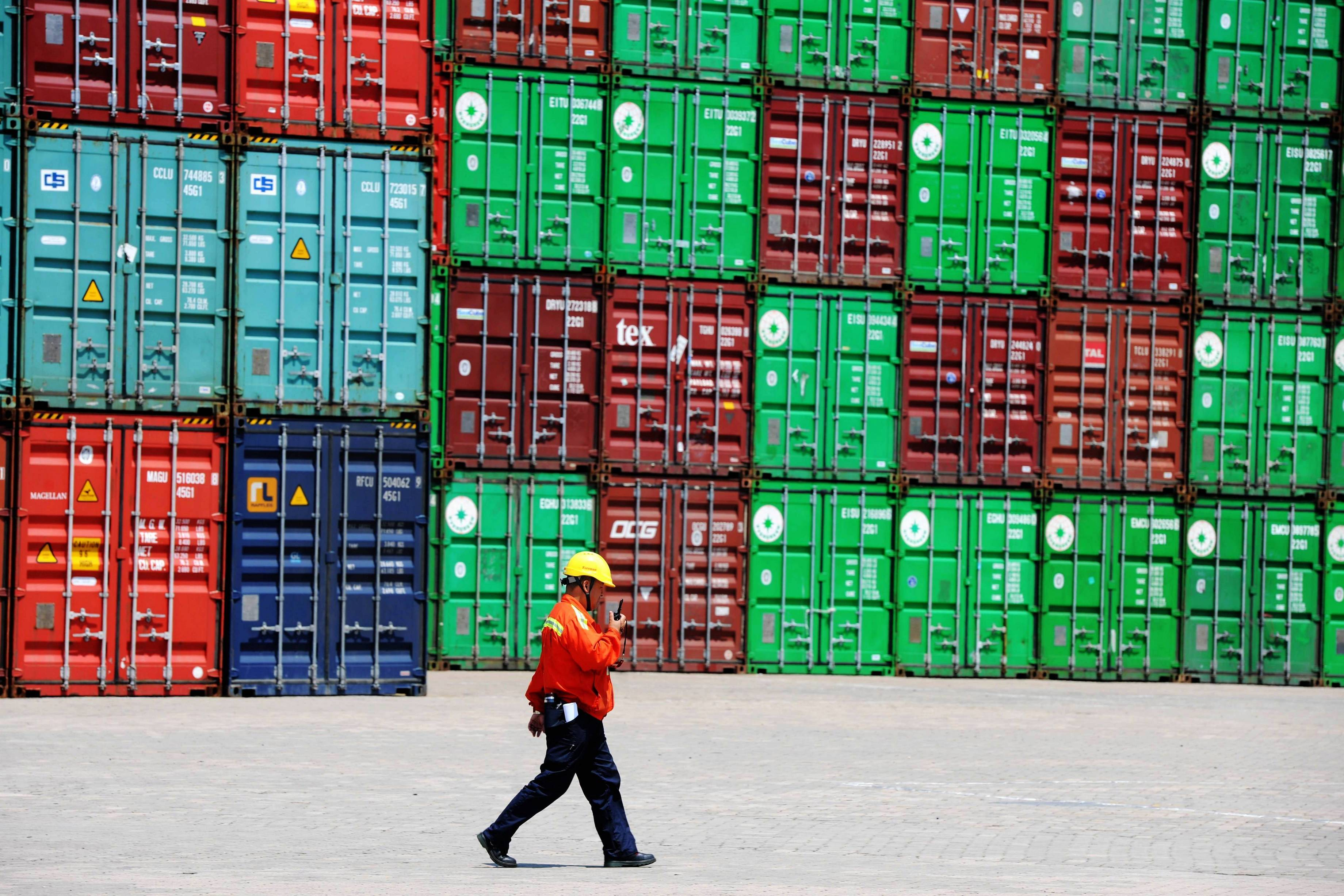 China Total Value Of Foreign Trade Decreased By 6.9% To 11.53 Trillion RMB For First Six Months
