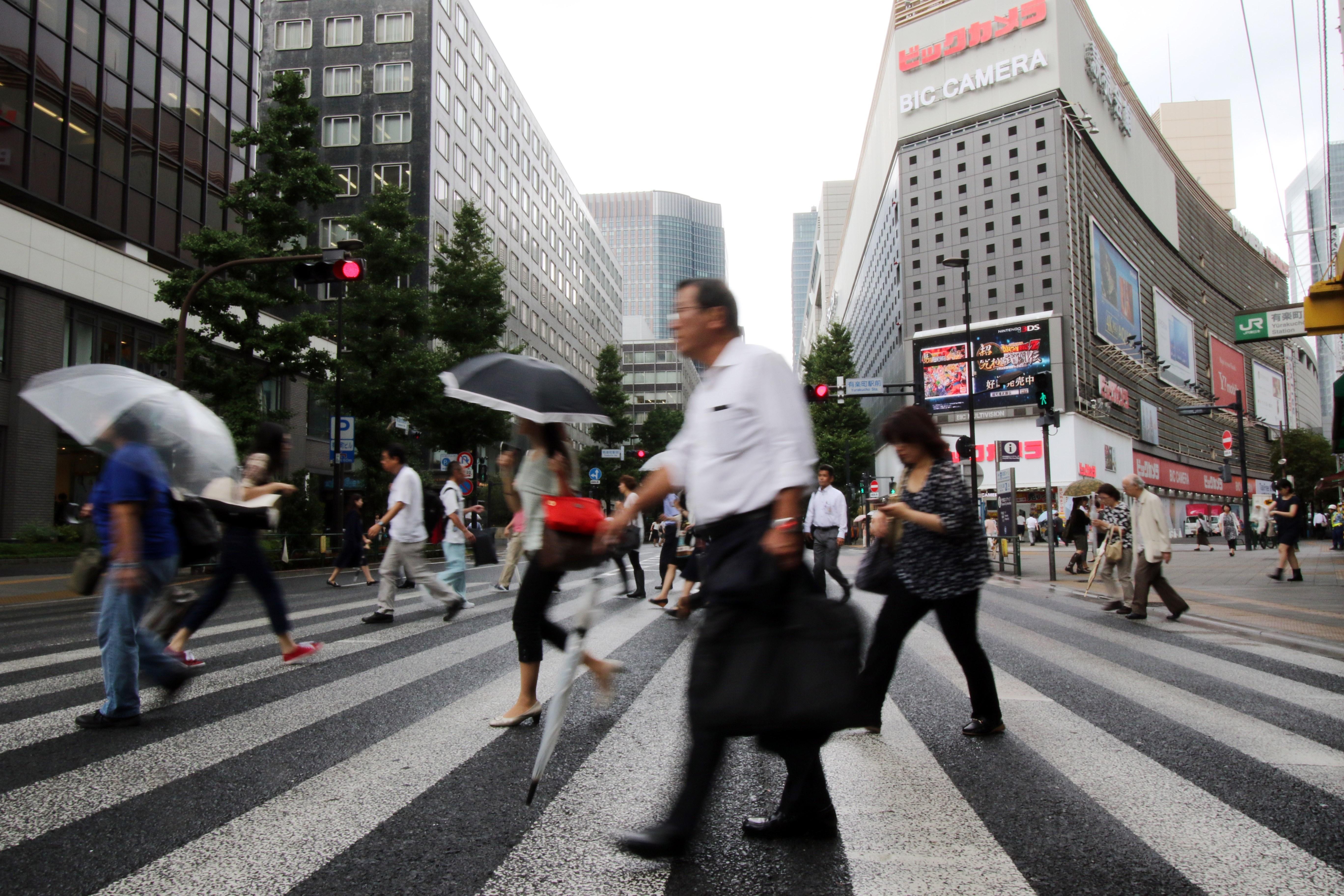 JAPAN-ECONOMY-GROWTH