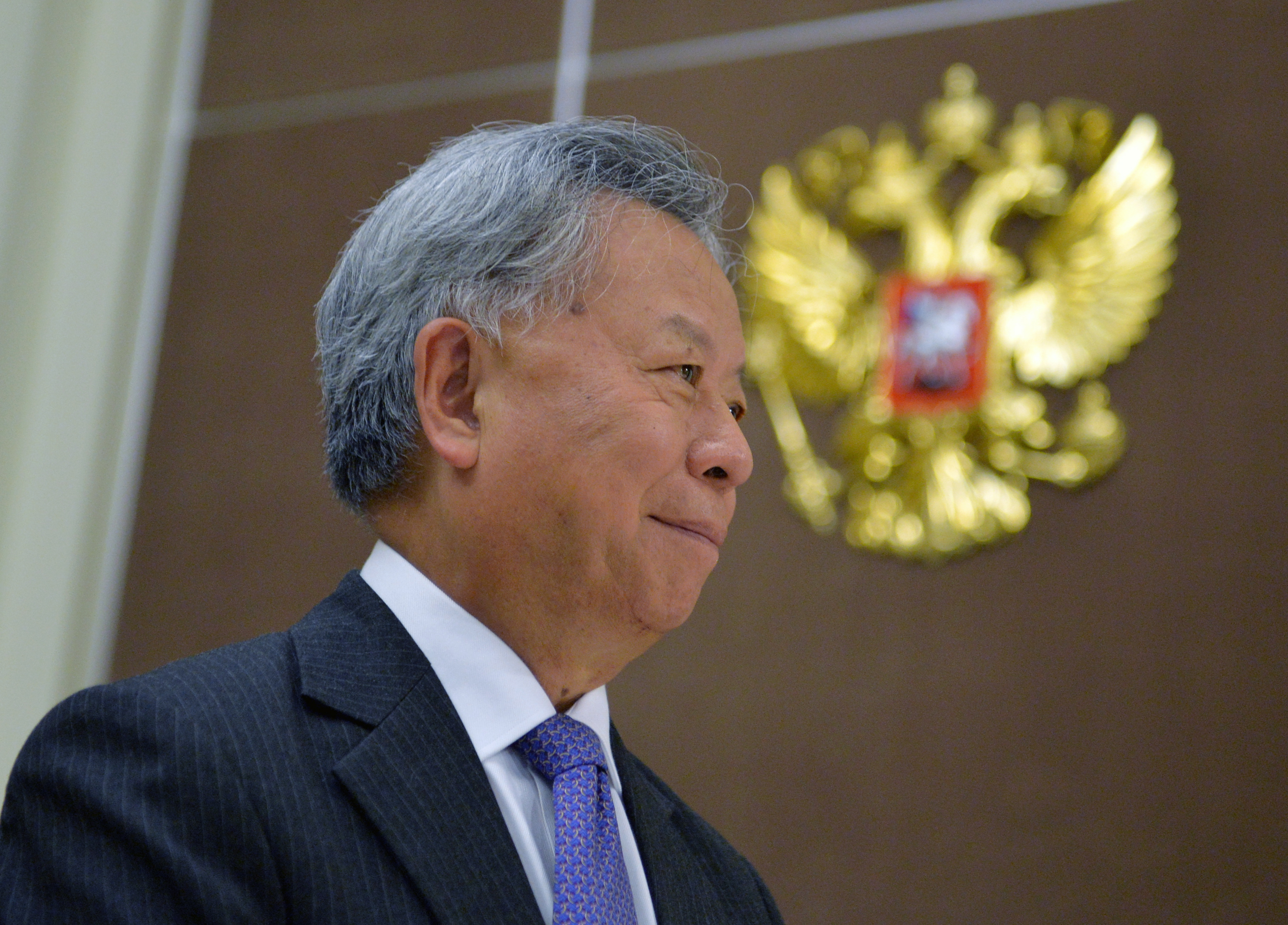 Asian Infrastructure Investment Bank (AIIB) President Jin Liqun.