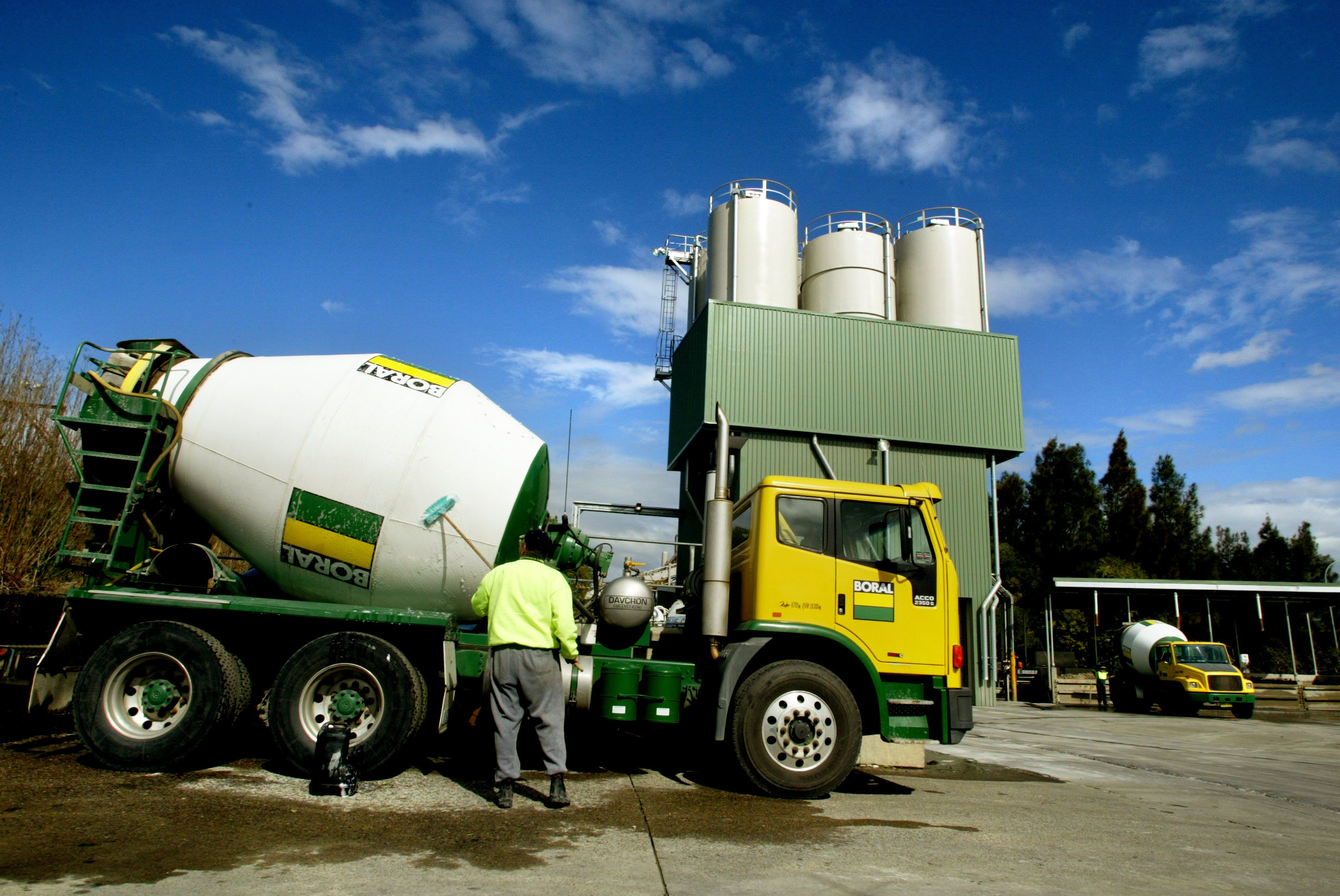 Boral Cement in Chullora, Australia, on August 17, 2004.