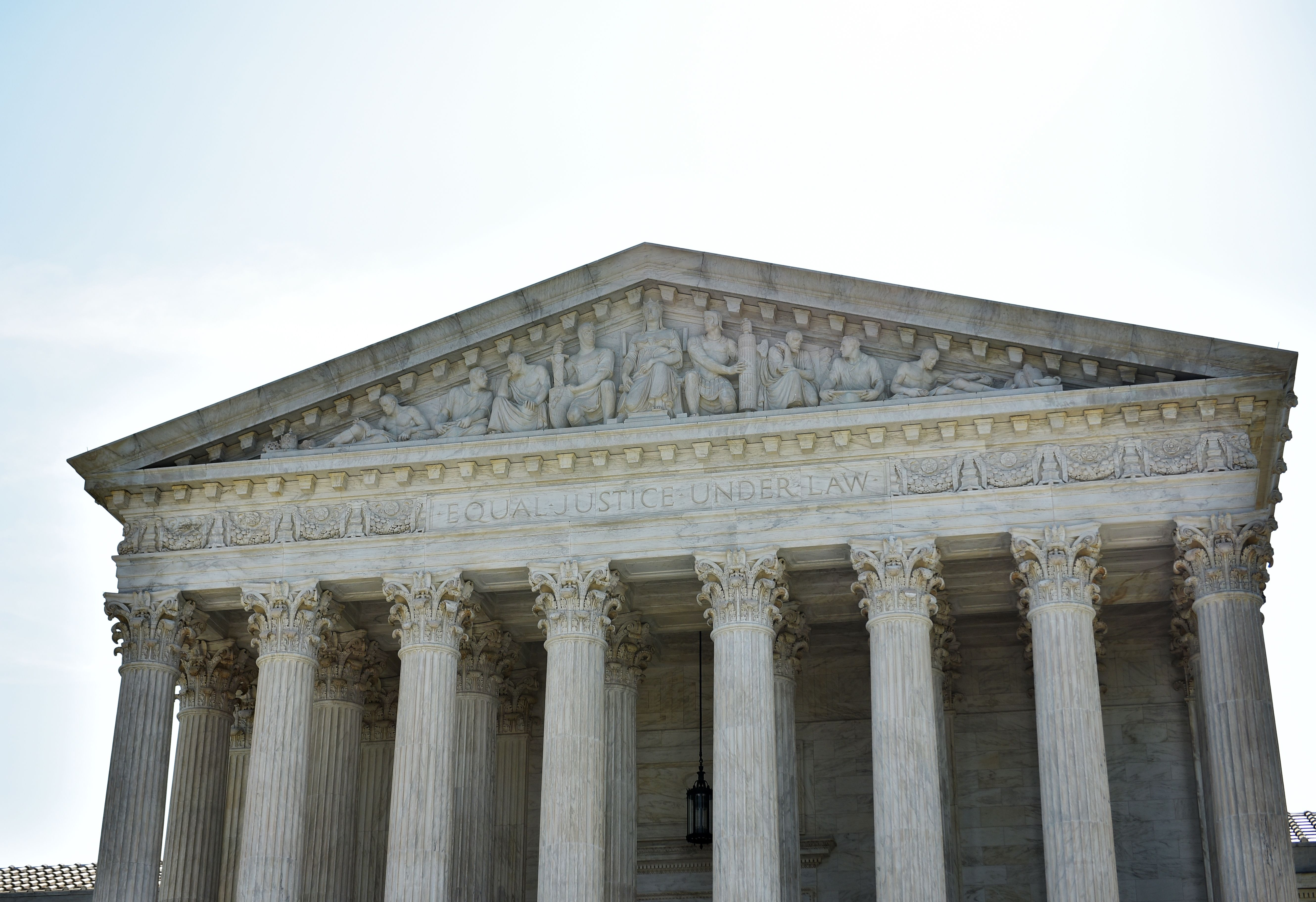 The US Supreme Court in Washington, D.C.