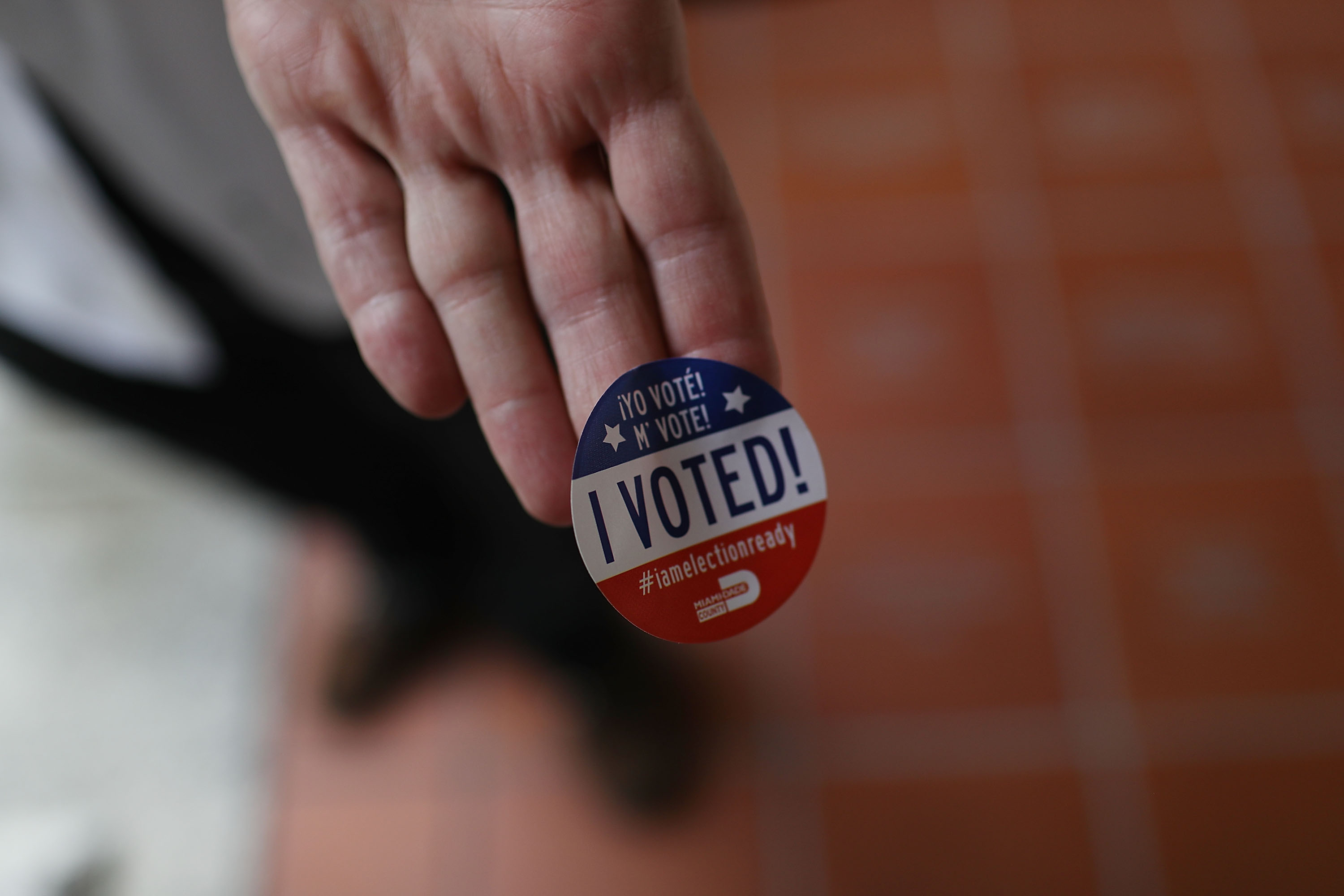 Voters Go To The Polls In Florida Primary